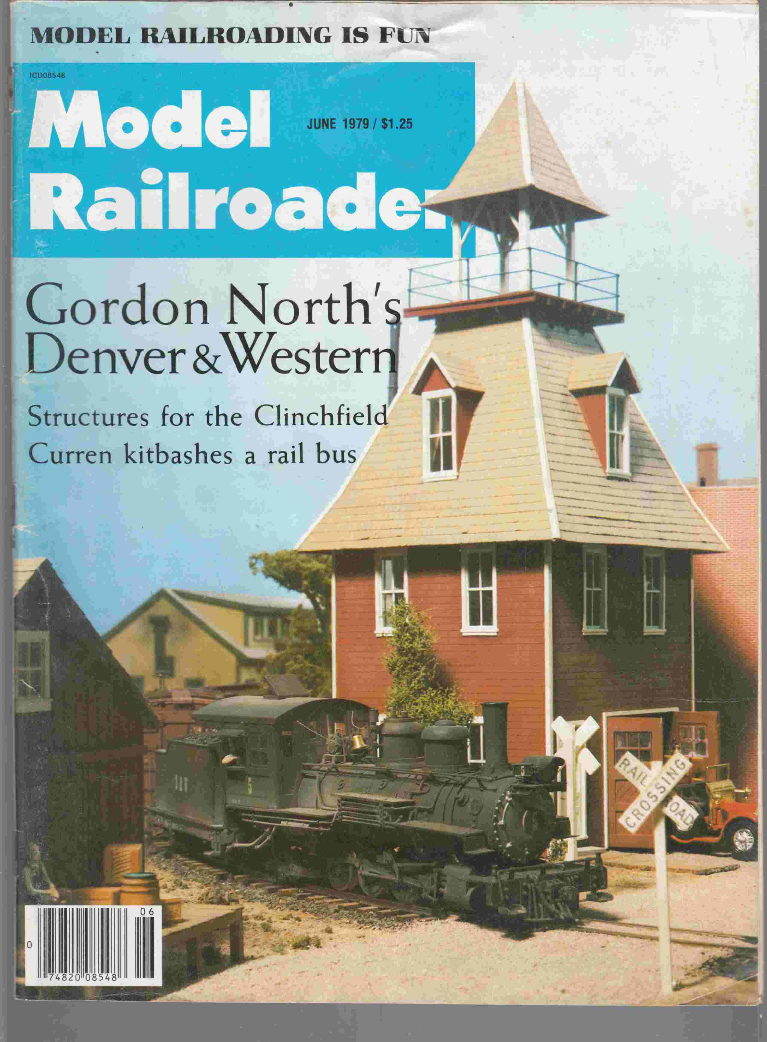 Image for Model Railroader June 1979 Volume 46 Number 6