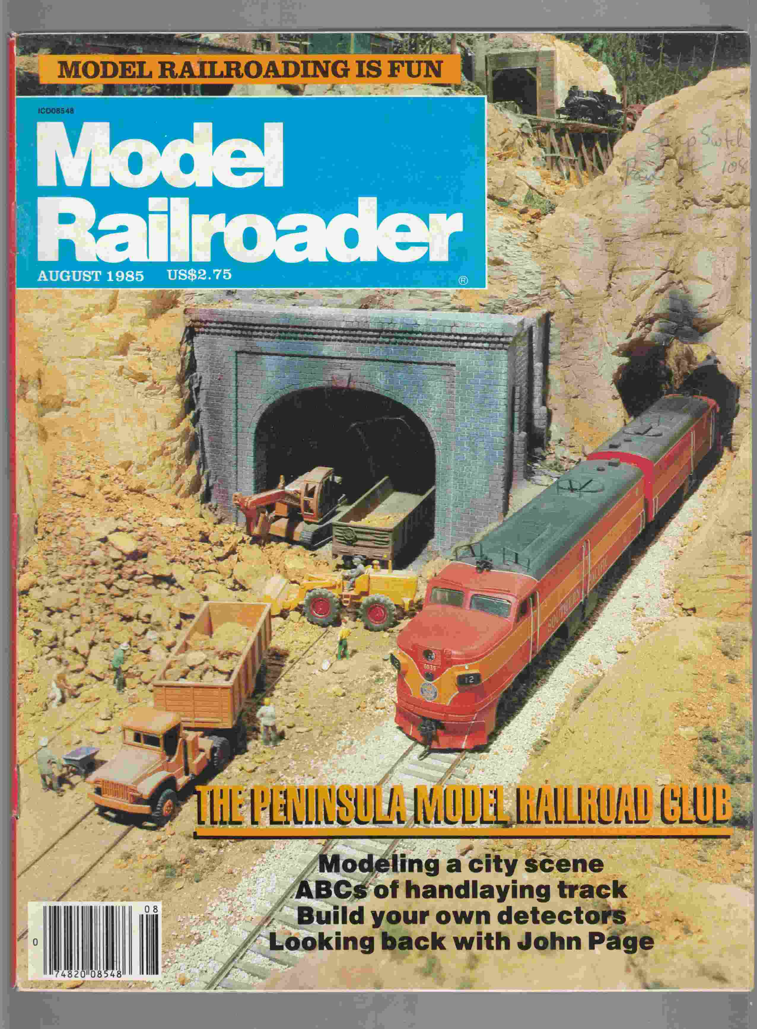 Image for Model Railroader August 1985 Volume 52 Number 8