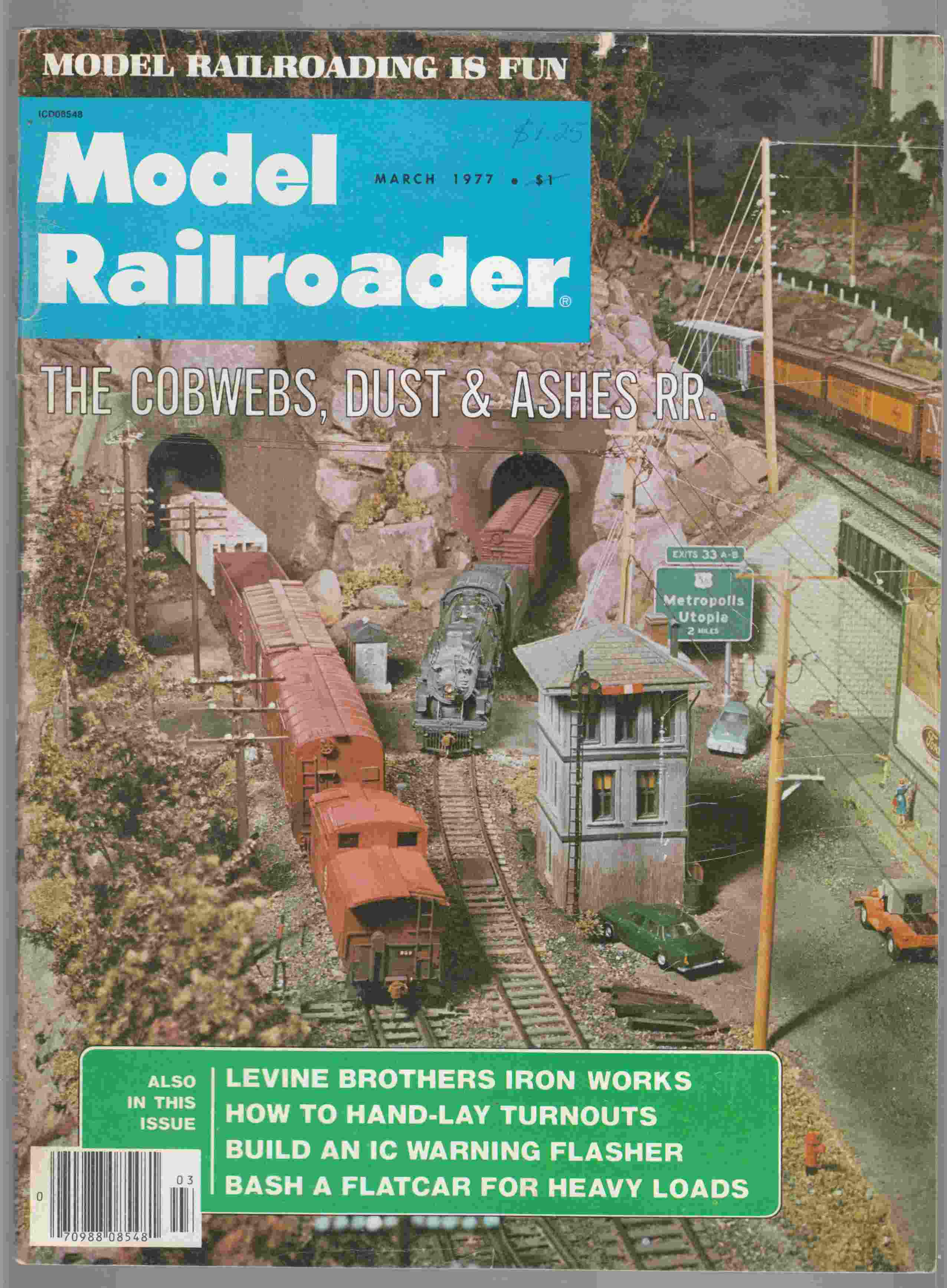 Image for Model Railroader March 1977 Volume 52 Number 8
