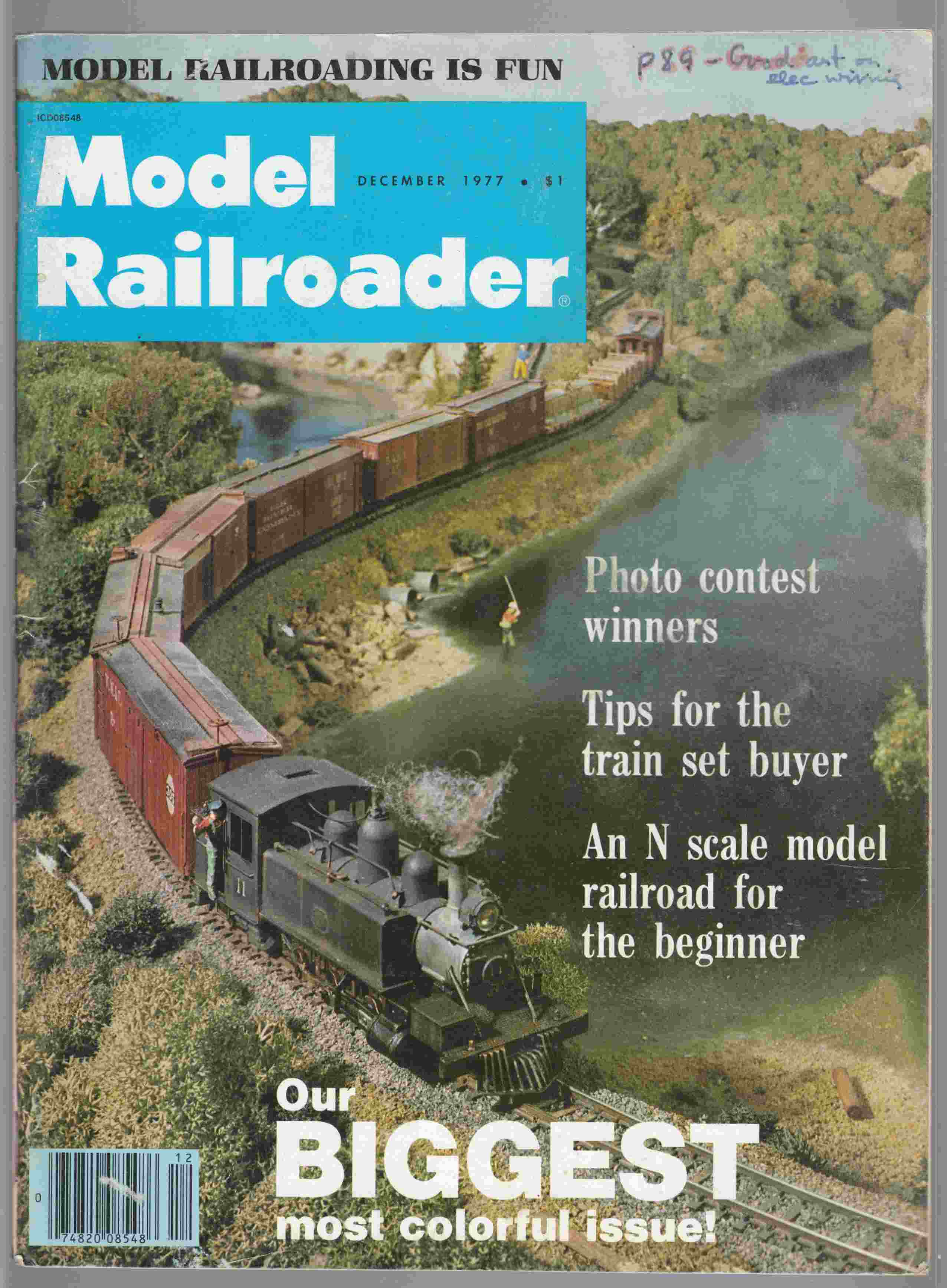 Image for Model Railroader December 1977 Volume 44 Number 12