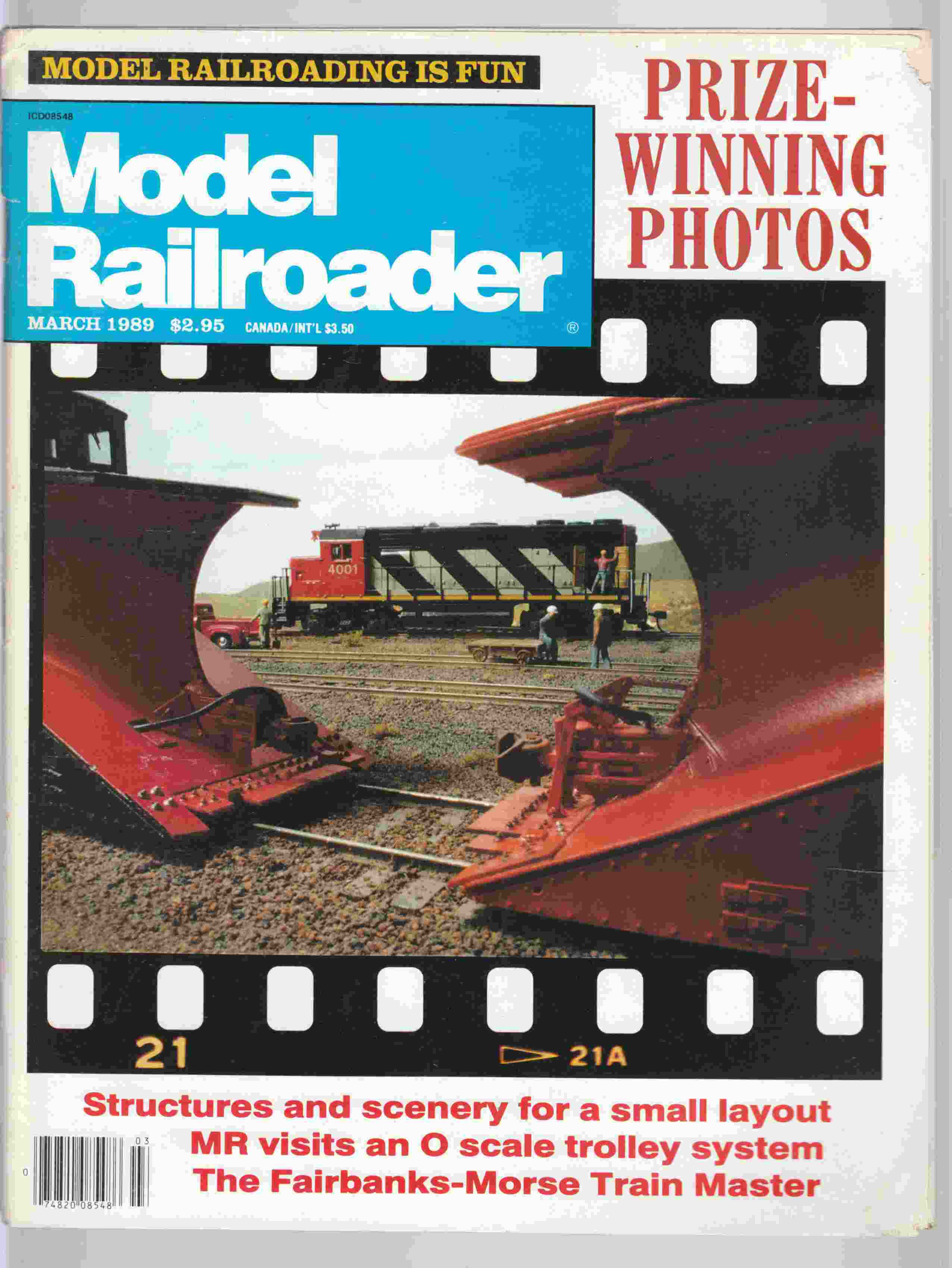 Image for Model Railroader March 1989 Volume 56 Number 3