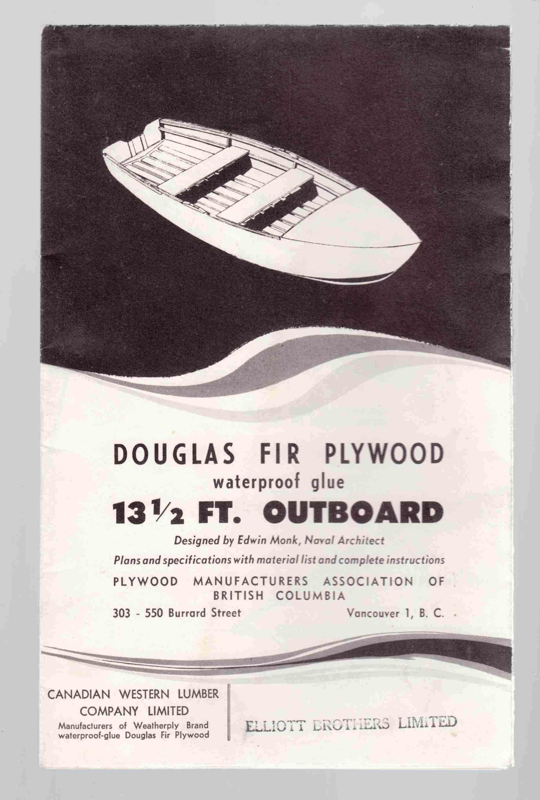 Image for Douglas Fir Plywood Waterproof Glue 13 1/2 Ft. Outboard