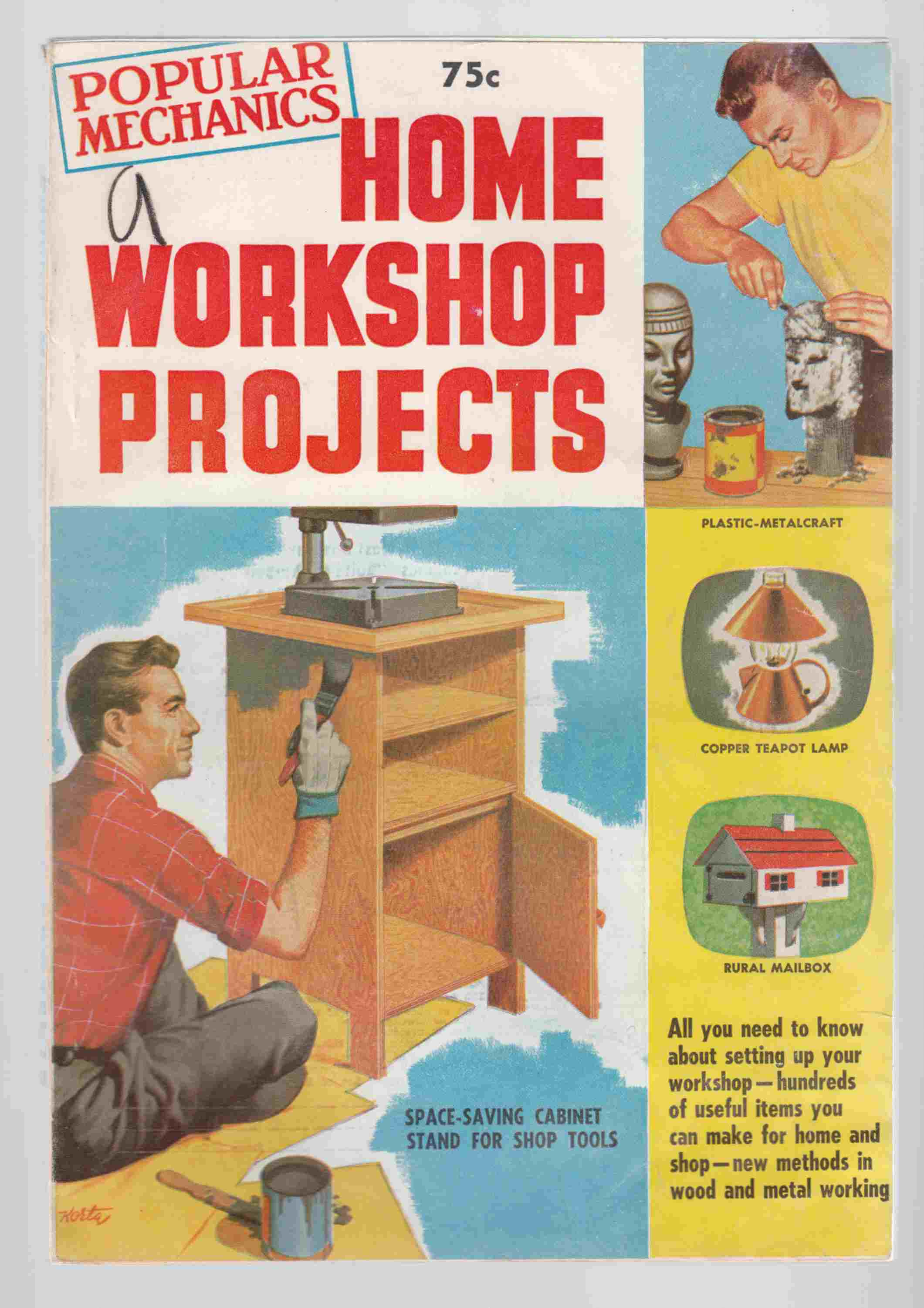 Image for Popular Mechanics Home Workshop Projects