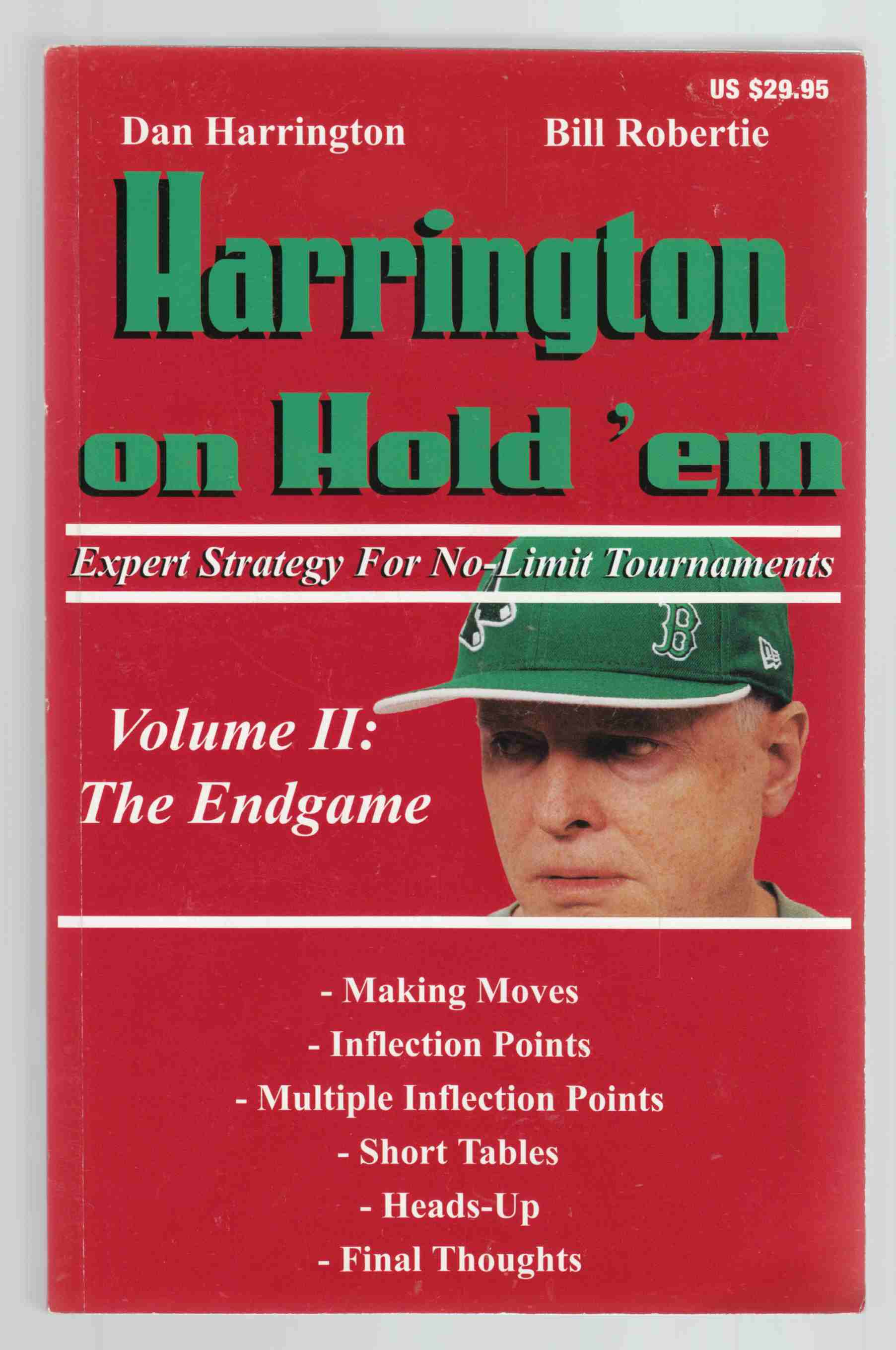 Image for Harrington on Hold'em; Expert Strategy for No-Limit Tournaments Volume II: the Endgame