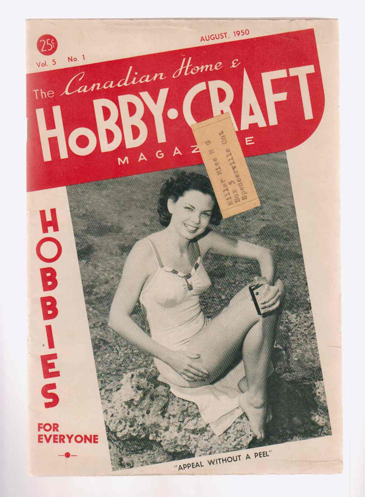Image for The Canadian Home and Hobby-Craft Magazine July - August 1950 Vol. 5 No. 1