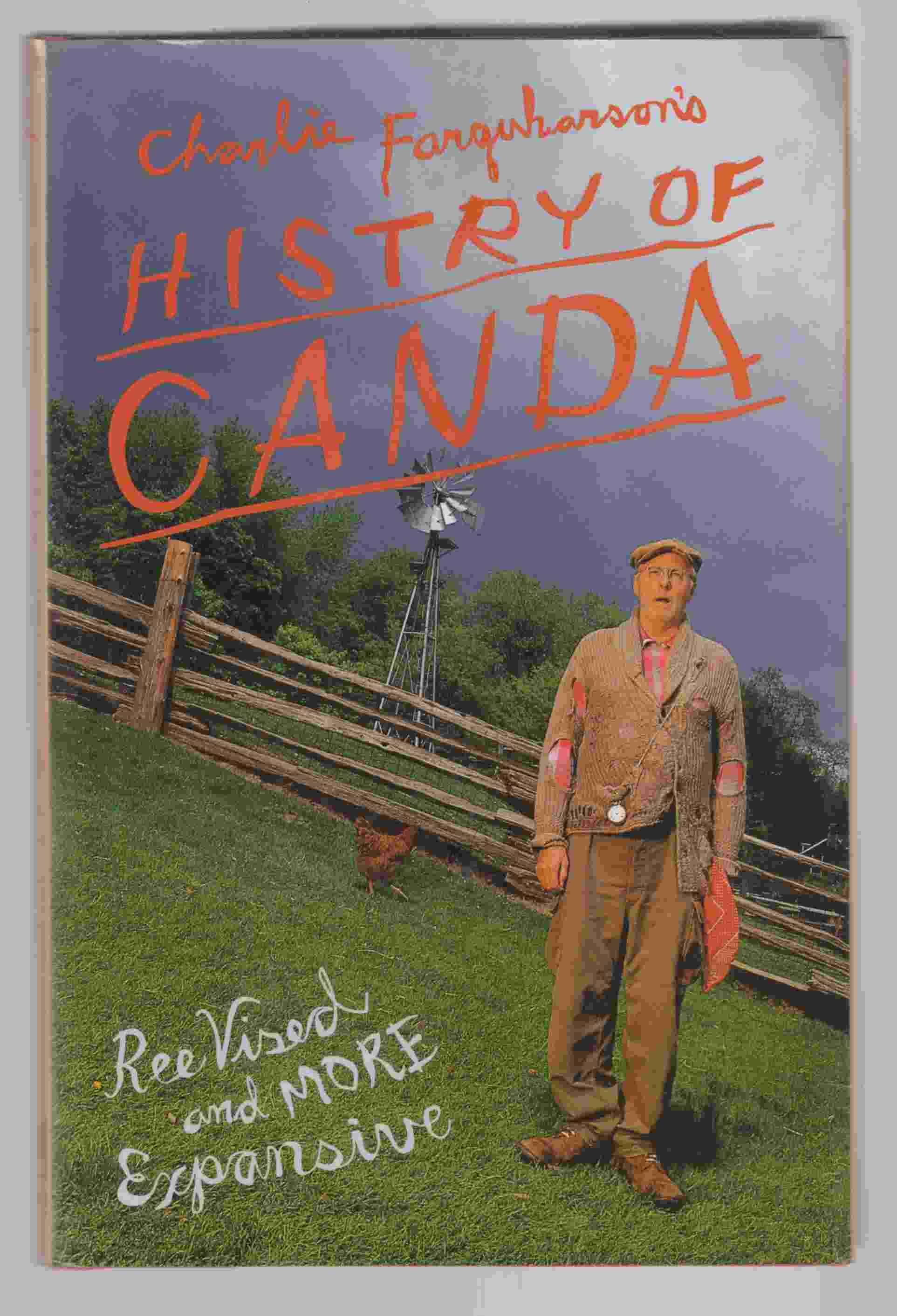 Image for Charlie Farquharson's Histry of Canada Reevized and More Expansive