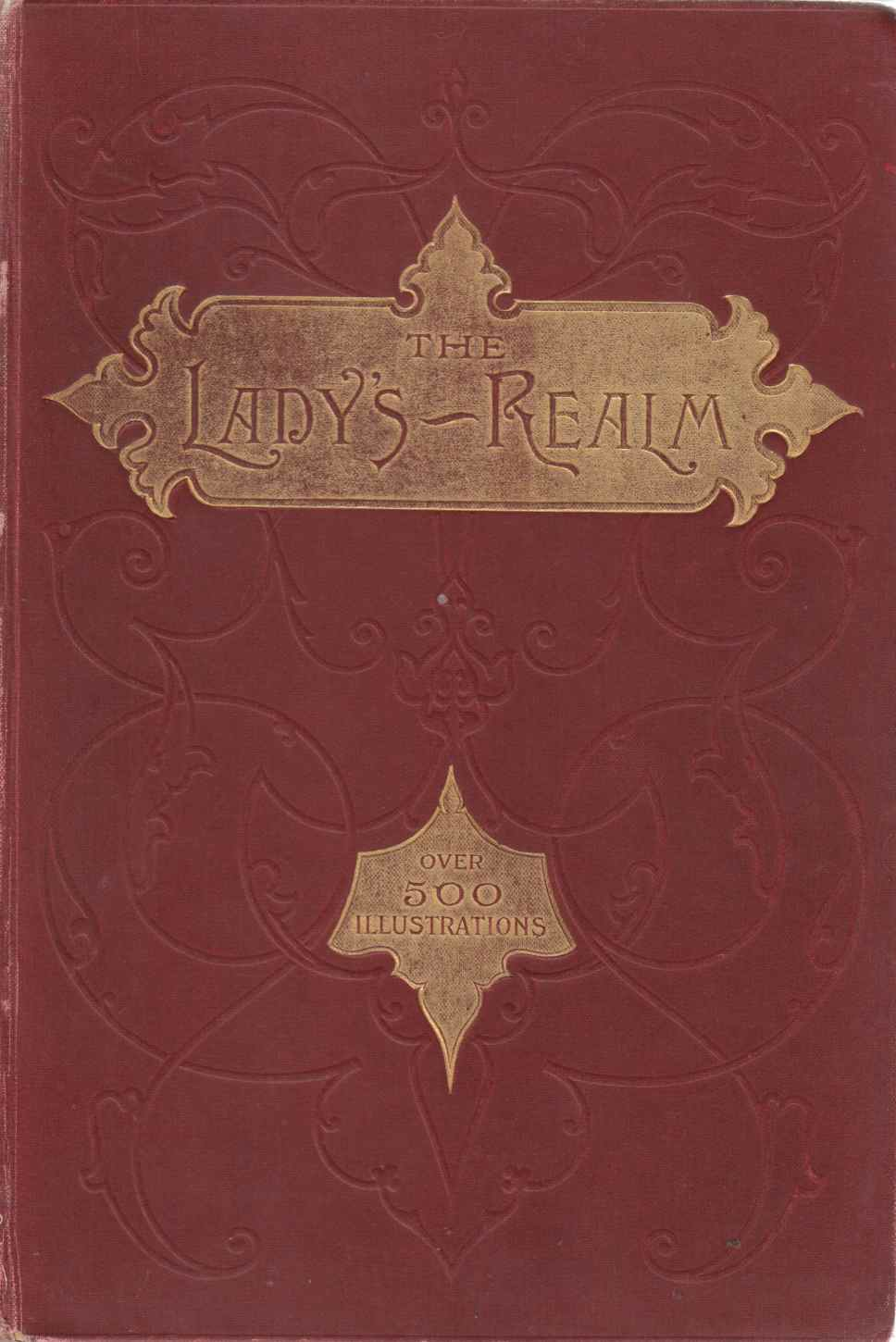 Image for The Lady's Realm: An Illustrated Monthly Magazine Vol. XXV November 1908 to April 1909