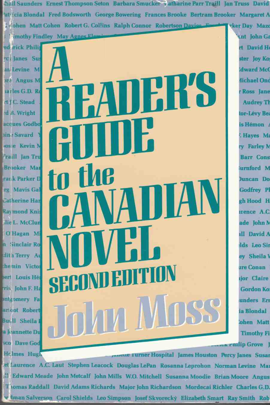 Image for A Reader's Guide to the Canadian Novel Second Edition