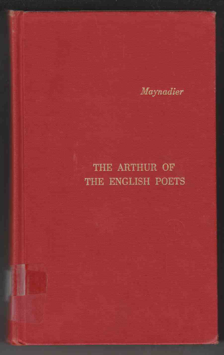 Image for The Arthur of the English Poets