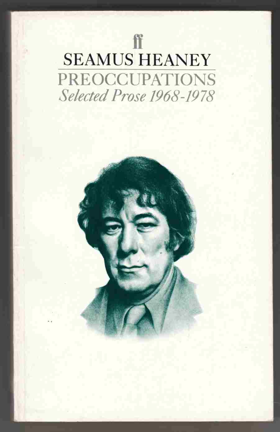 Image for Preoccupations Selected Prose 1968-1978