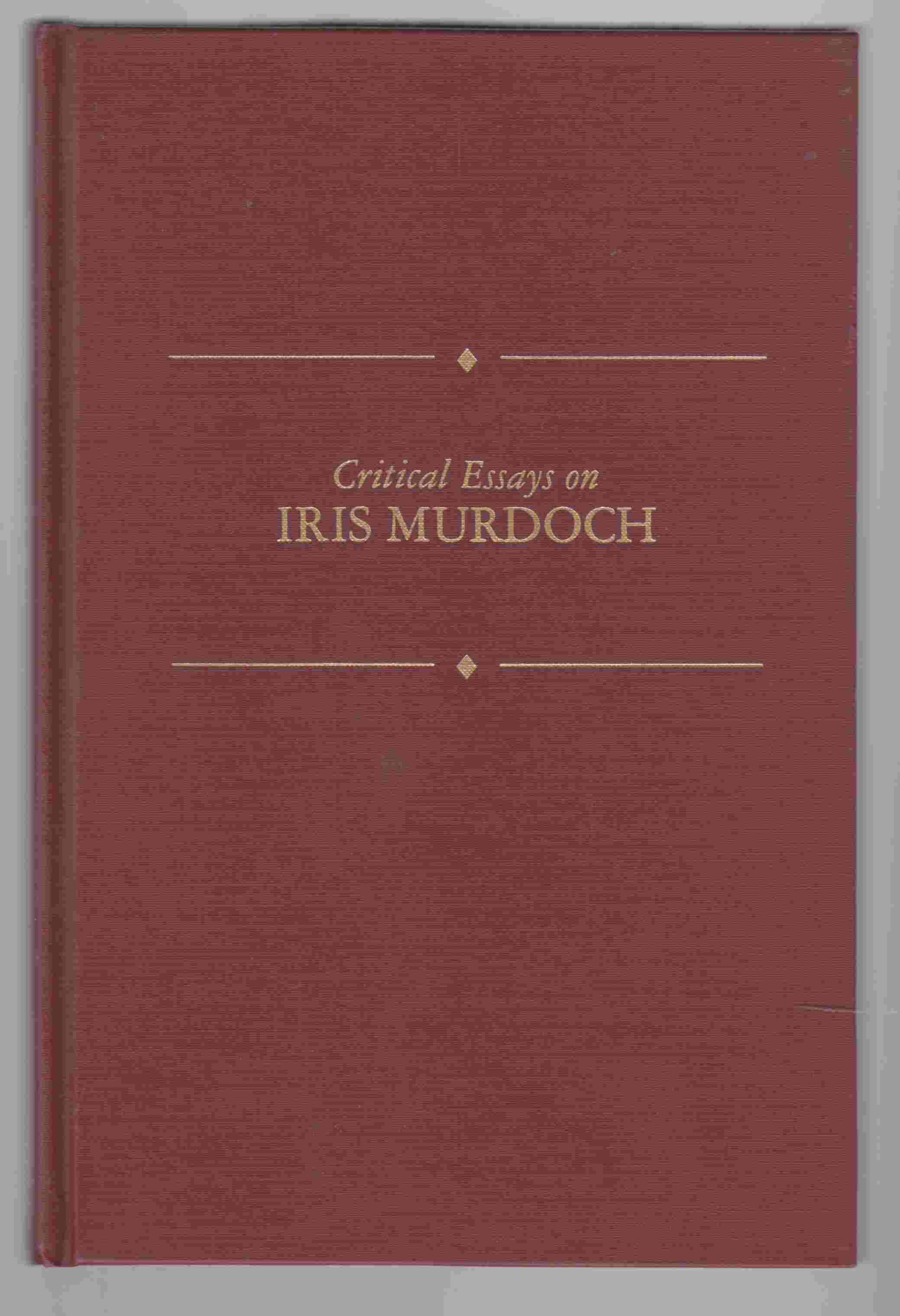 Image for Critical Essays on Iris Murdoch