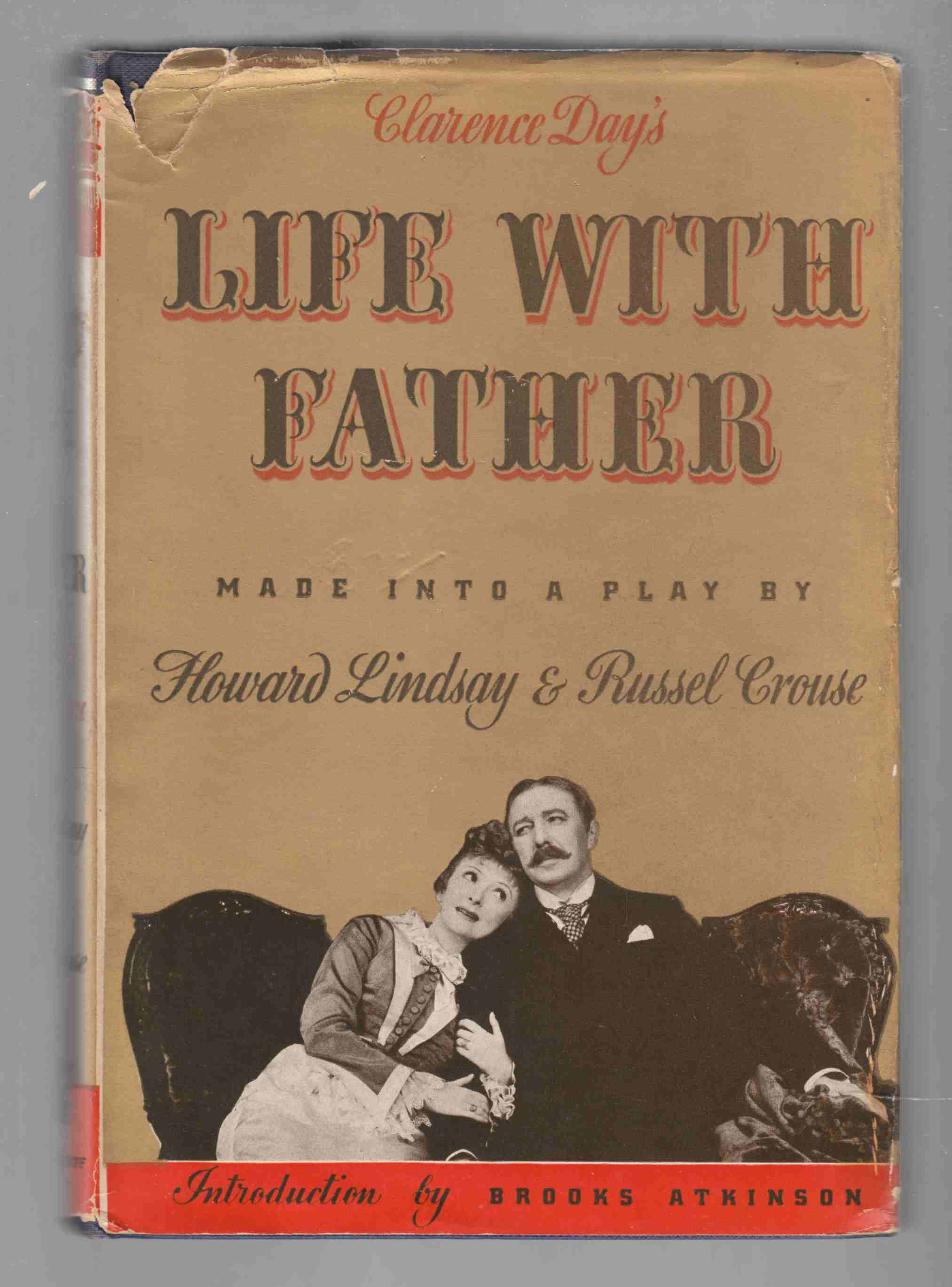 Image for Clarence Day's Life with Father Made Into a Play