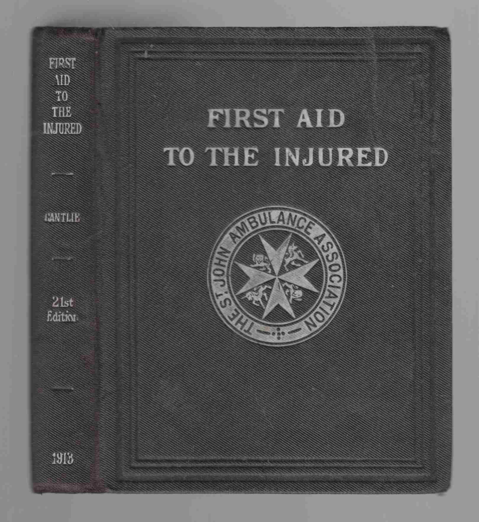 Image for First Aid to the Injured