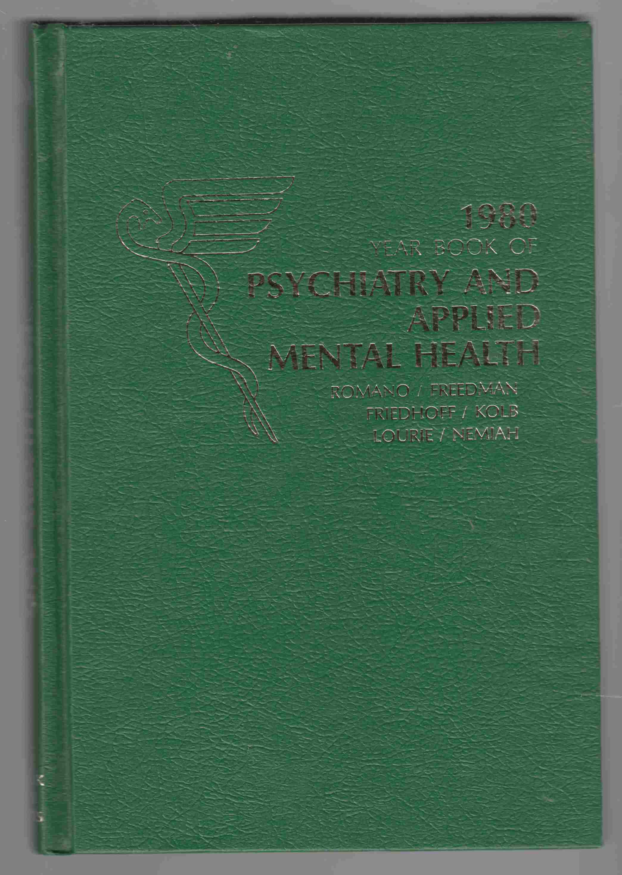 Image for The Year Book of Psychiatry and Applied Mental Health 1980
