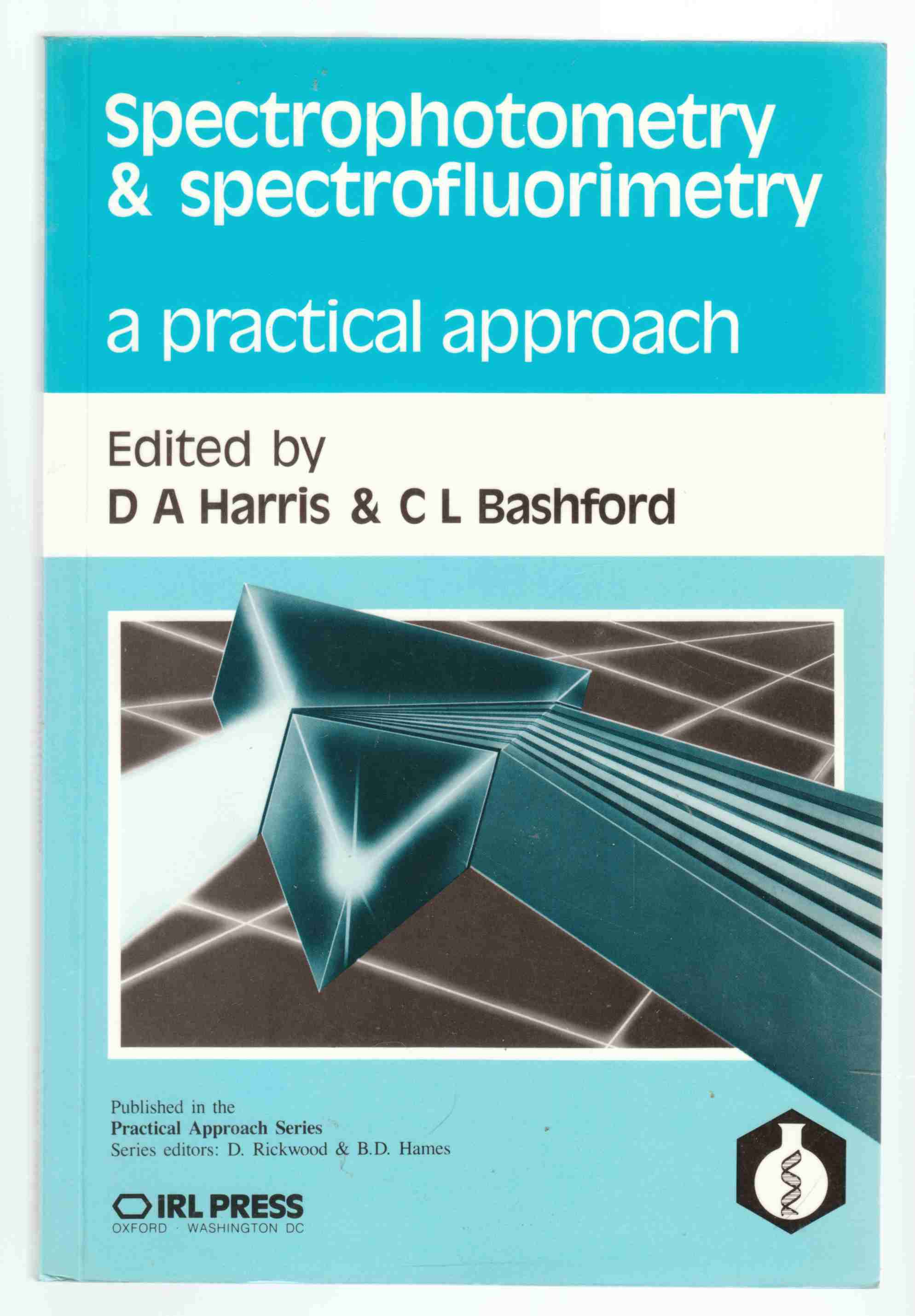 Image for Spectrophotometry & Spectrofluorimetry A Practical Approach