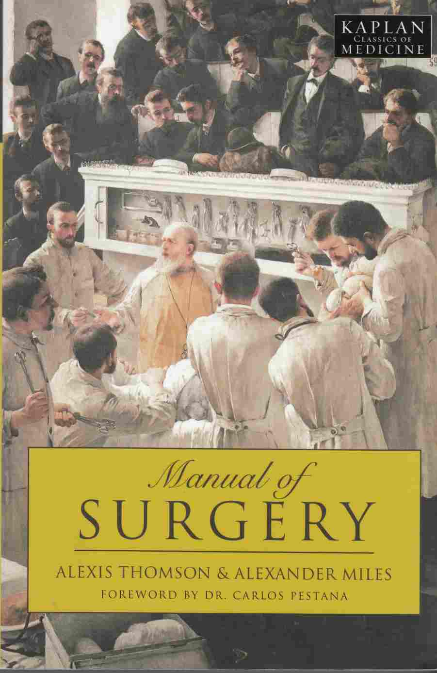 Image for Manual of Surgery
