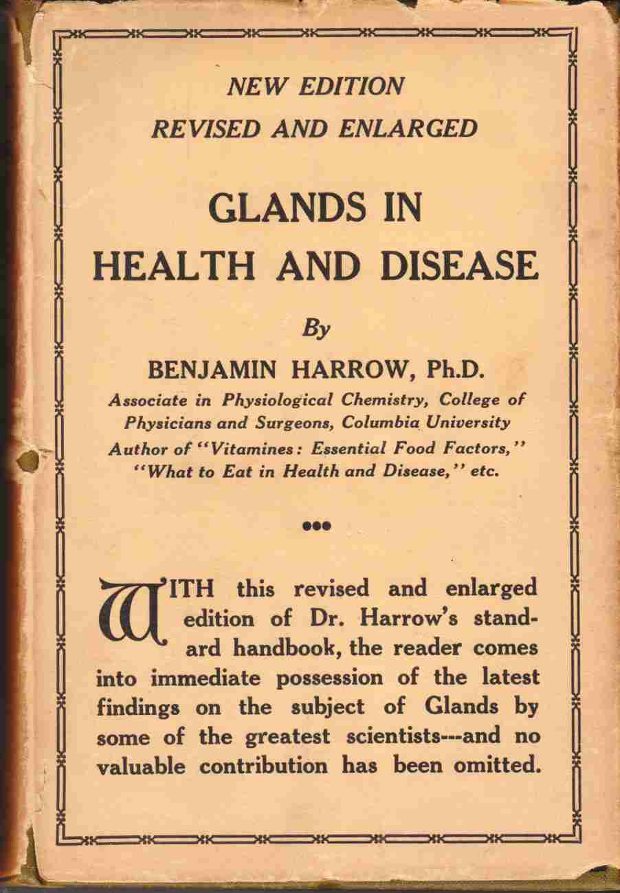 Image for Glands in Health and Disease