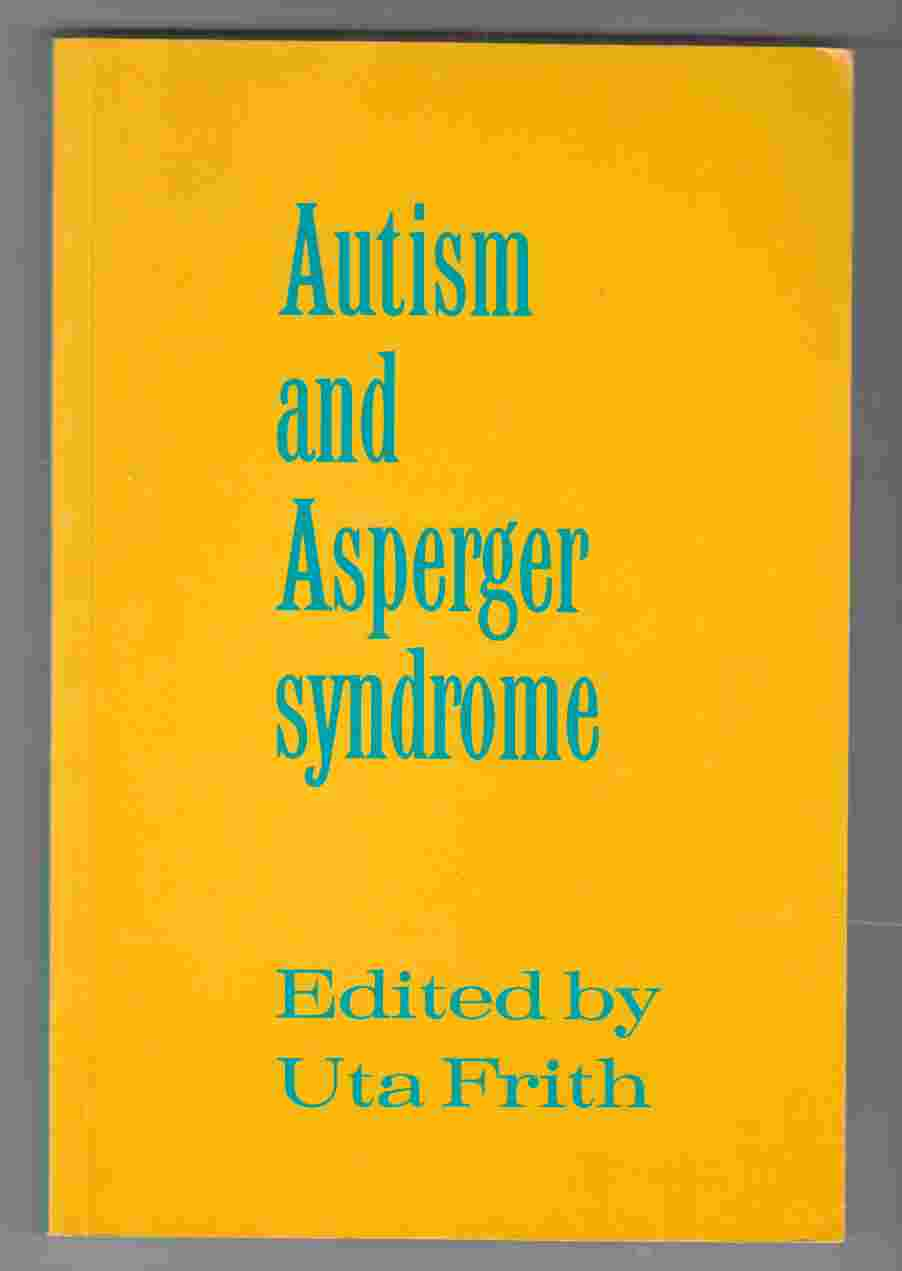 Image for Autism and Asperger Syndrome