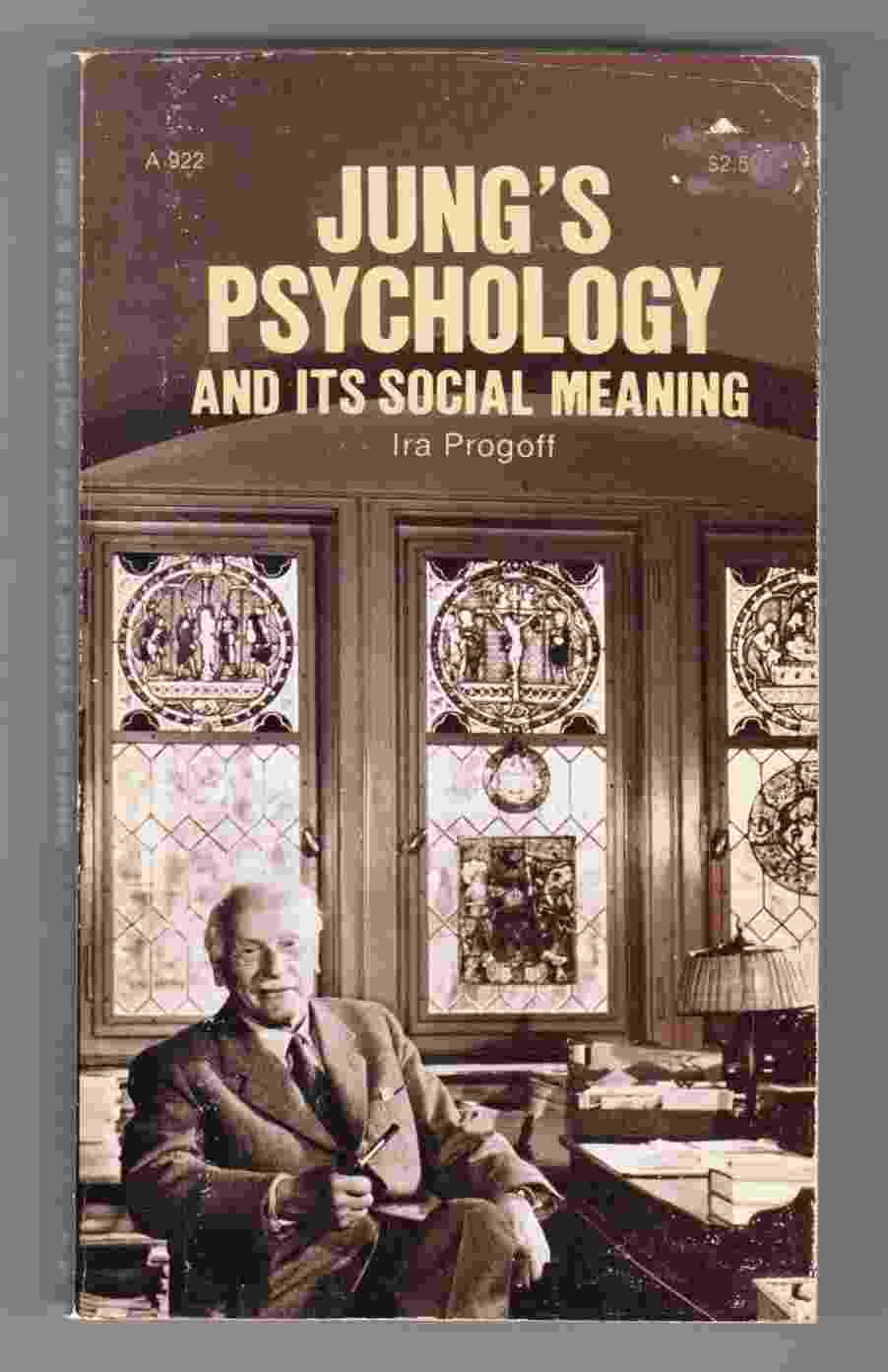 Image for Jung's Psychology and its Social Meaning