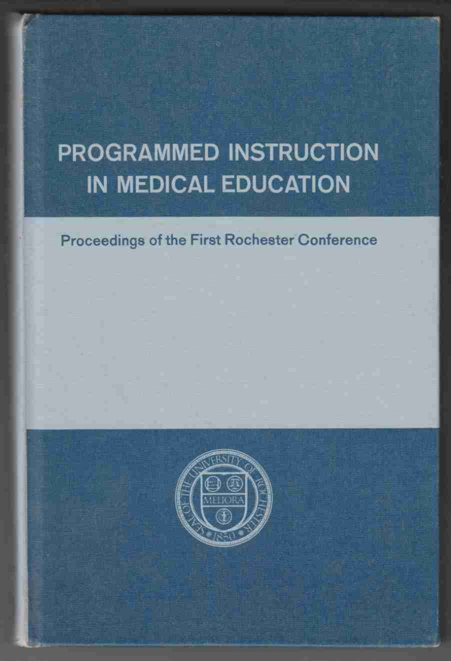 Image for Programmed Instruction in Medical Education