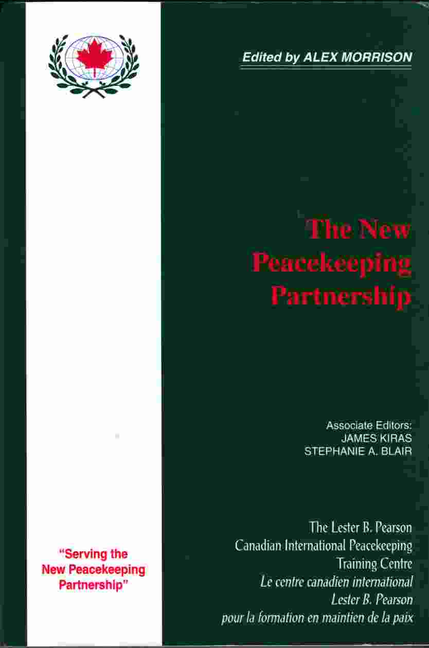 Image for The New Peacekeeping Partnership
