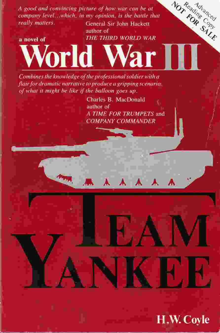 Image for Team Yankee : A Novel of World War III