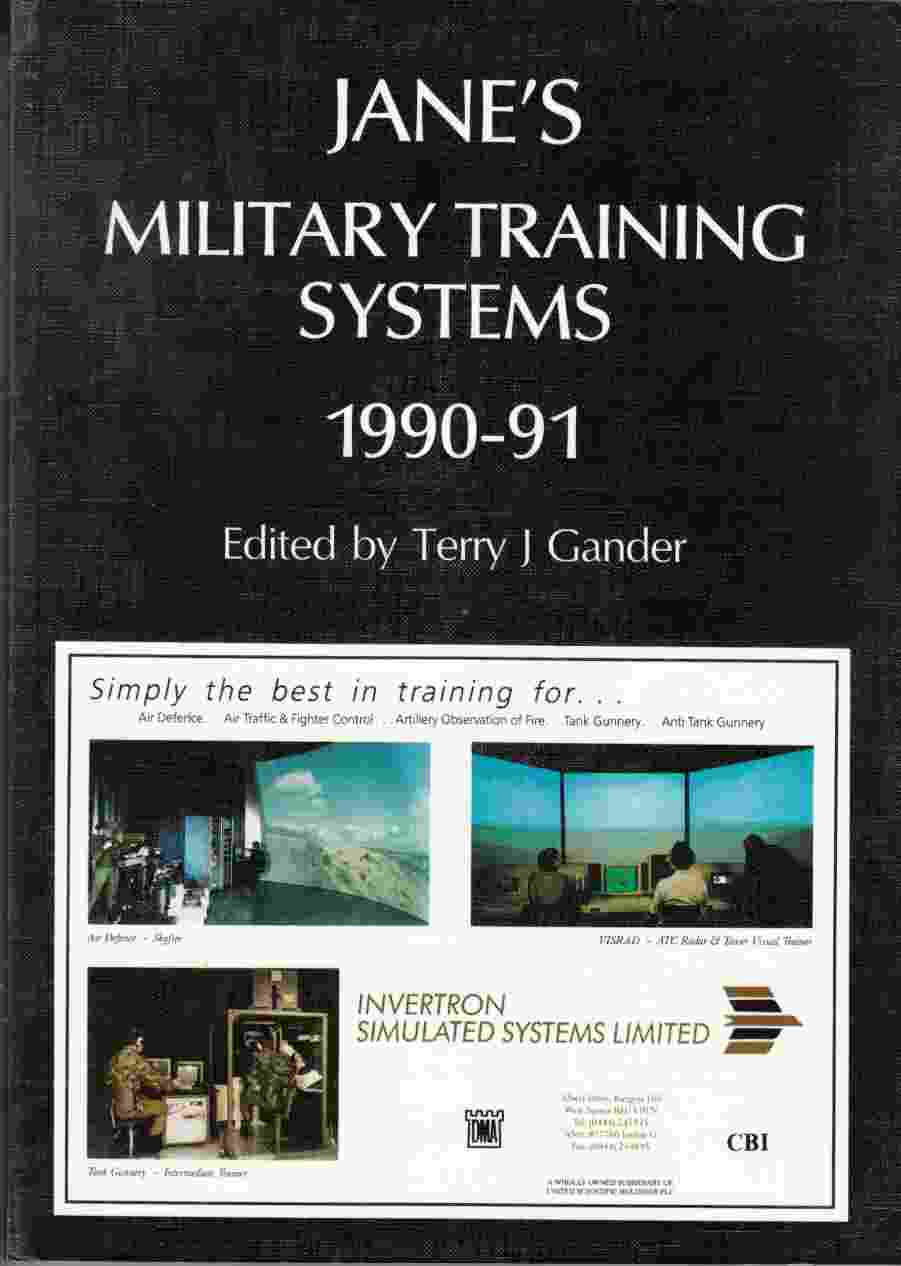 Image for Jane's Military Training Systems, 1990-91 Third Edition