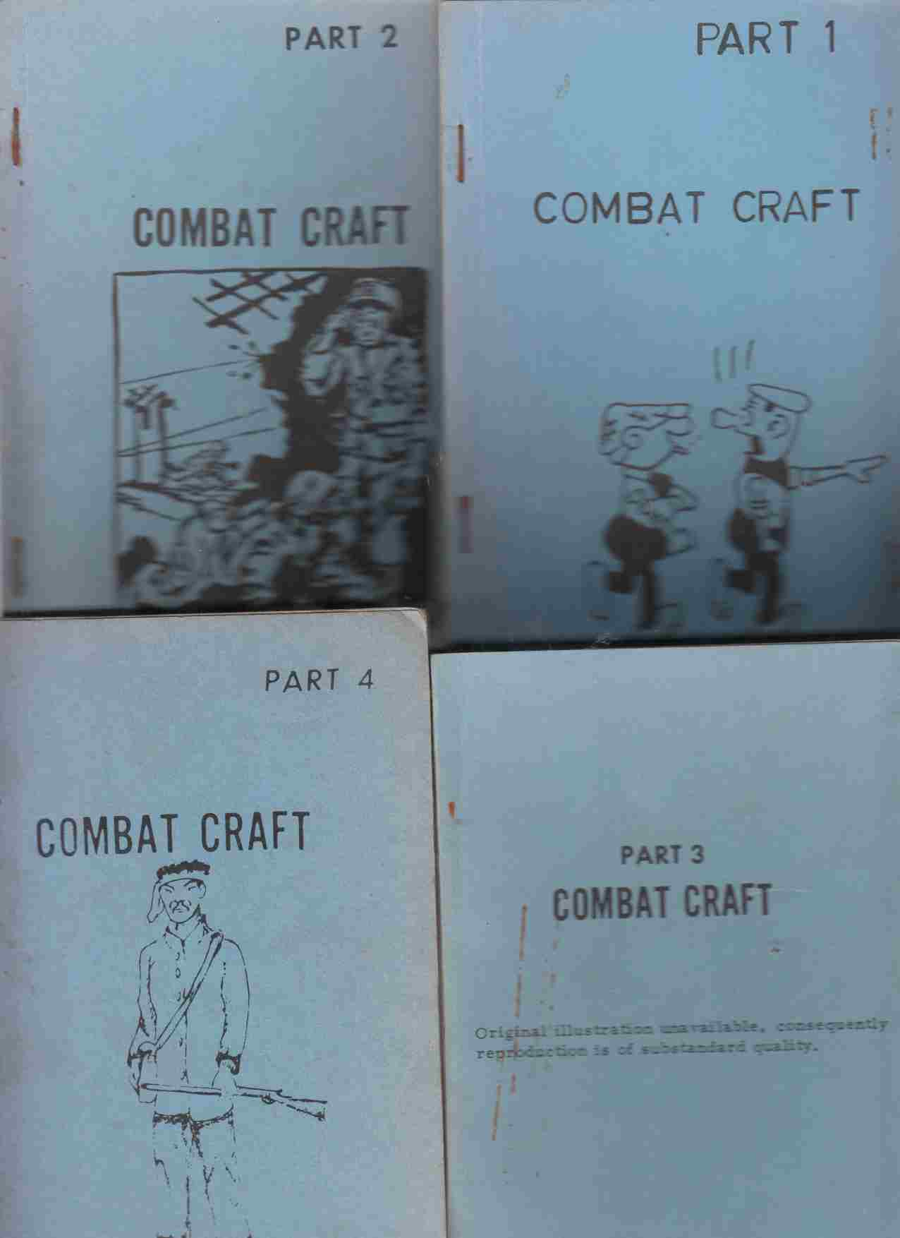 Image for Combat Craft Parts 1, 2, 3 and 4