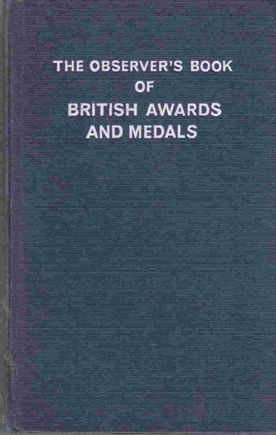 Image for The Observer's Book of British Awards and Medals
