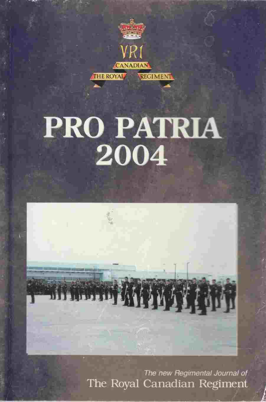 Image for The Pro Patria 2004 - April 2004 Issue 86