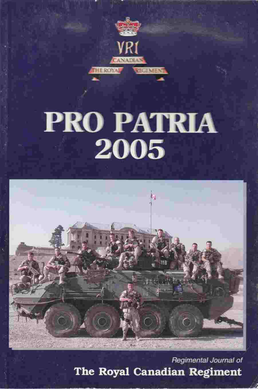 Image for The Pro Patria 2005 - April 2006 Issue 87