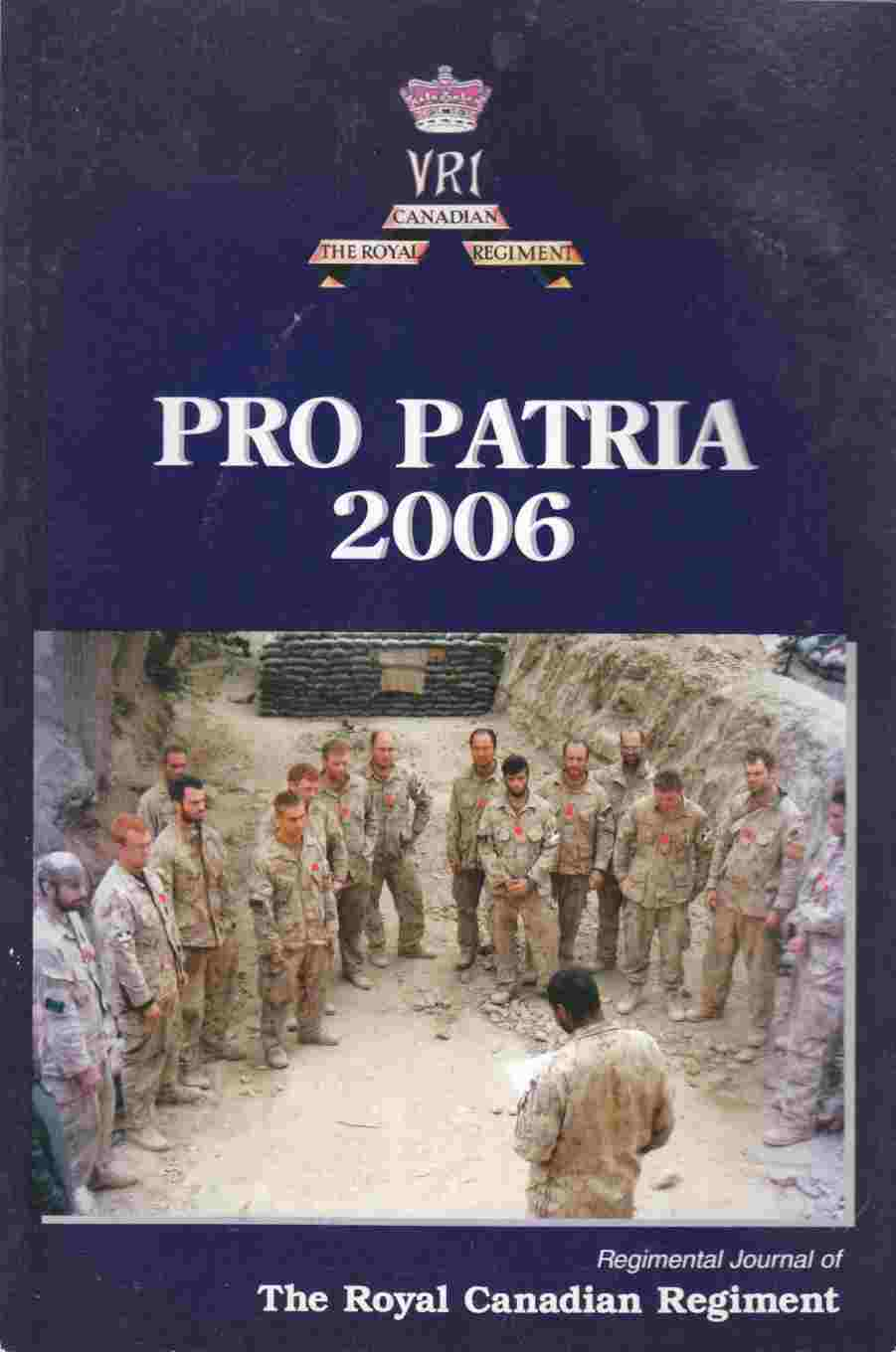 Image for The Pro Patria 2006 - April 2007 Issue 88