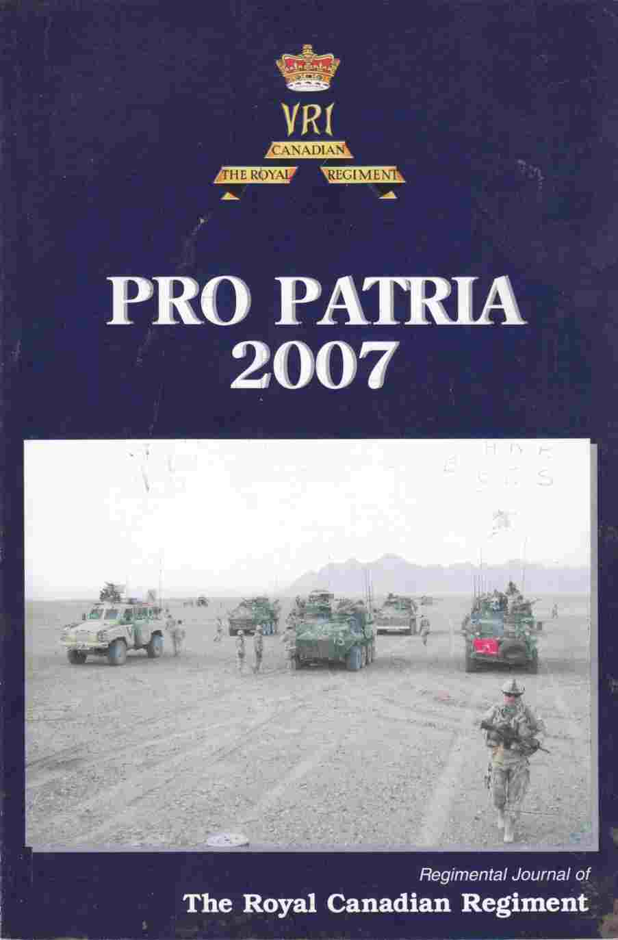 Image for The Pro Patria 2007 - April 2008 Issue 89