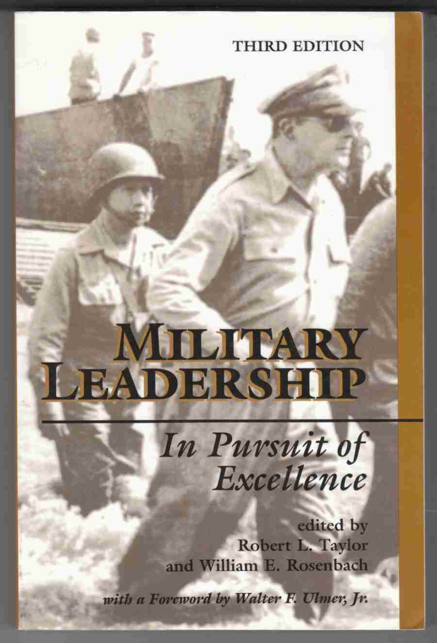 Image for Military Leadership In Pursuit of Excellence