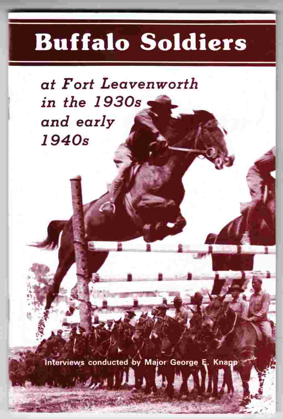 Image for Buffalo Soldiers At Fort Leavenworth in the 1930s and Early 1940s