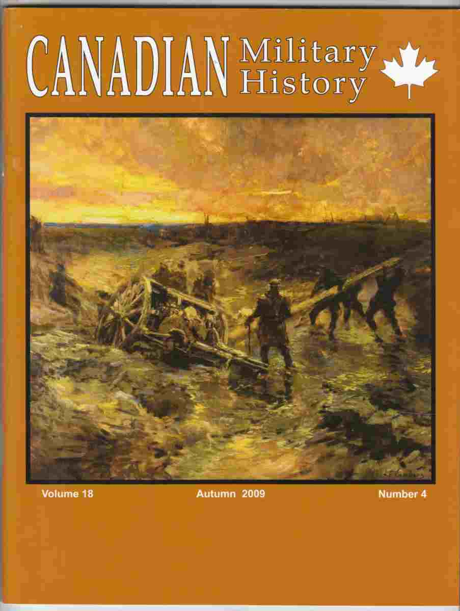 Image for Canadian Military History Autumn 2009 Volume 18, Number 4