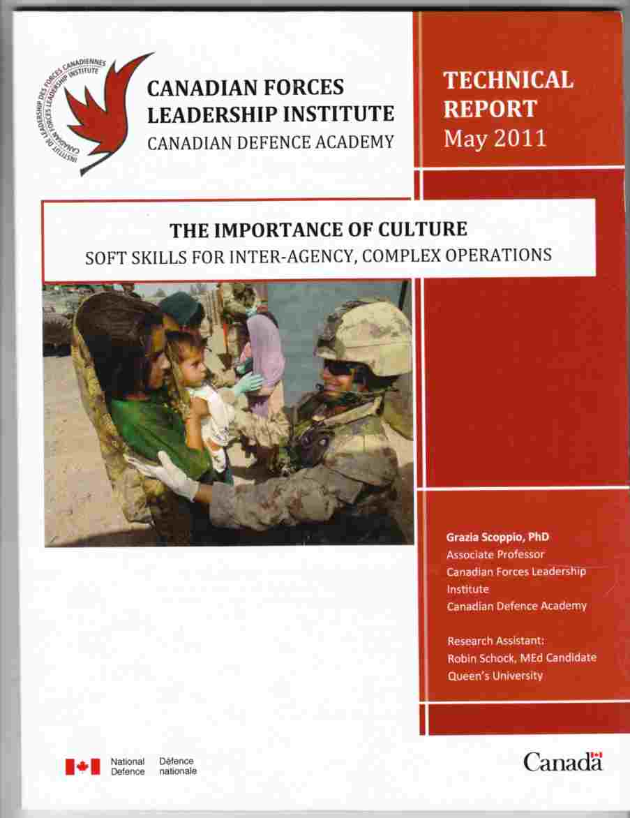 Image for The Importance of Culture Soft Skills for Inter-Agency, Complex Operations