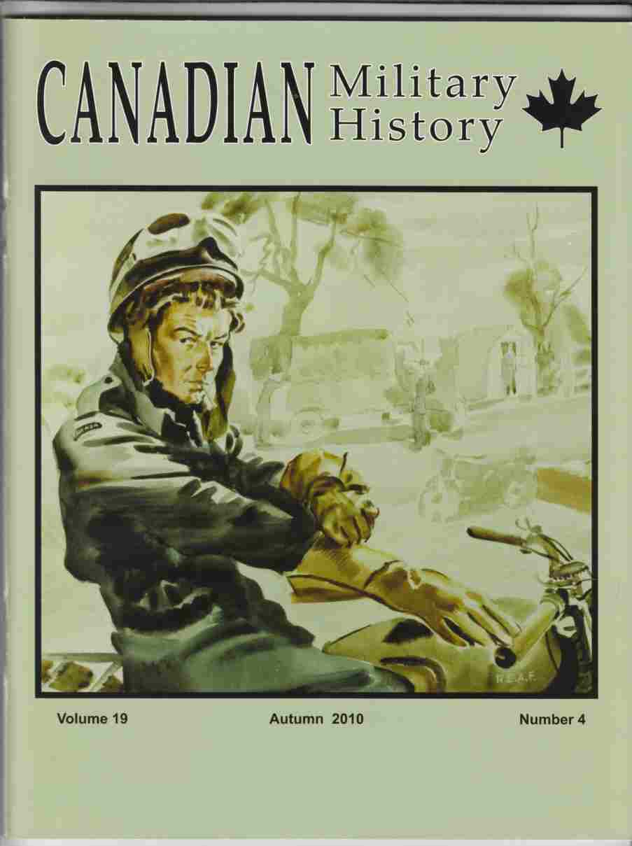 Image for Canadian Military History Autumn 2010 Volume 19, Number 4