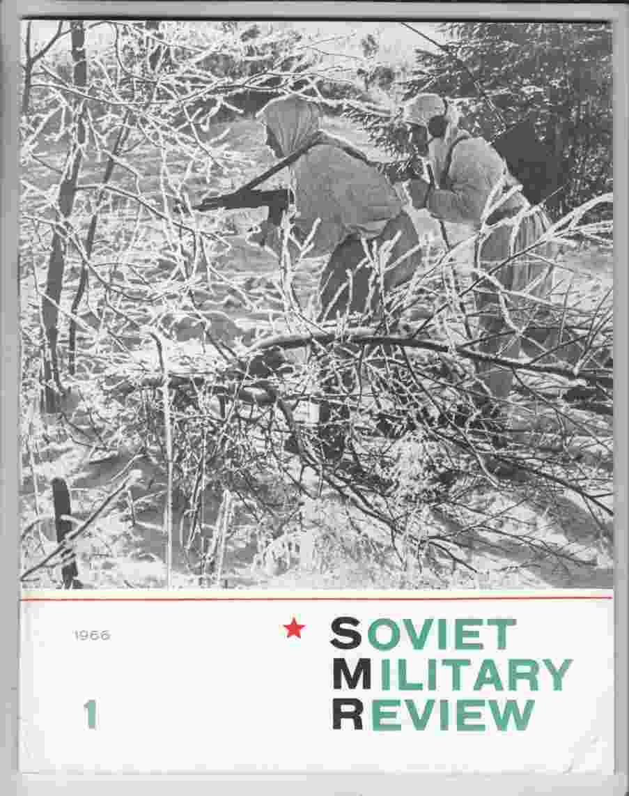 Image for Soviet Military Review No. 1 January 1966