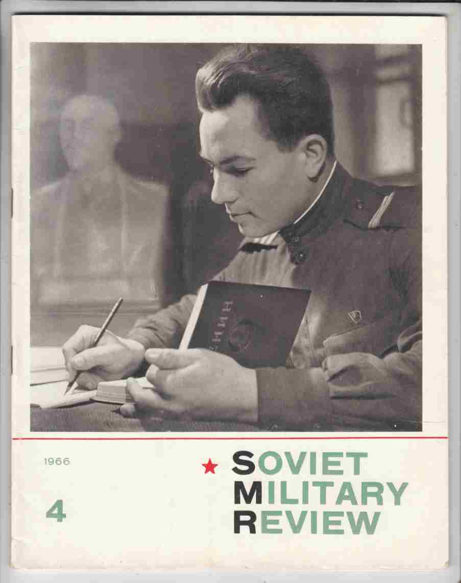 Image for Soviet Military Review No. 4 April 1966