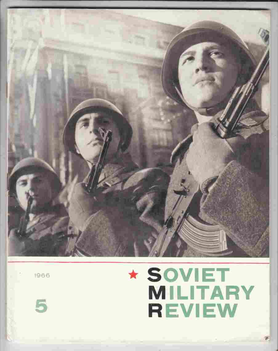 Image for Soviet Military Review No. 5 May 1966