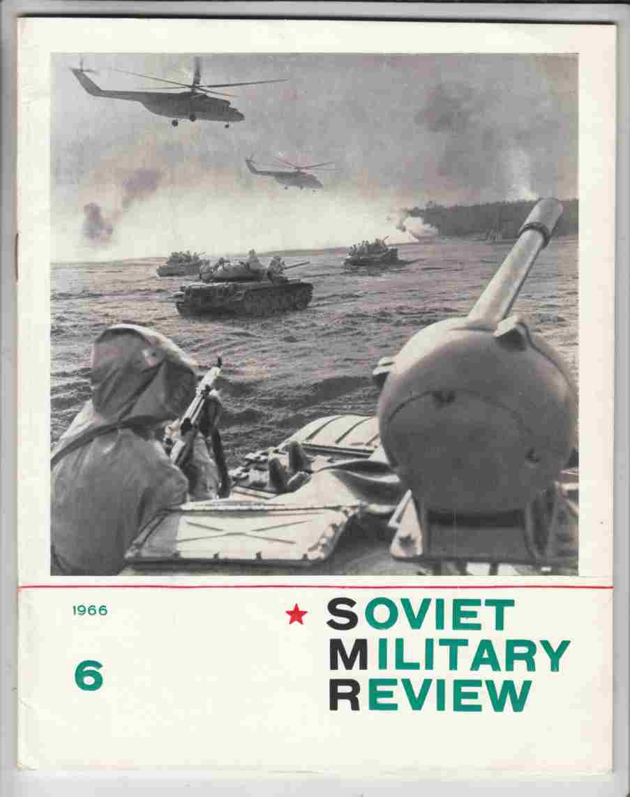 Image for Soviet Military Review No. 6 June 1966
