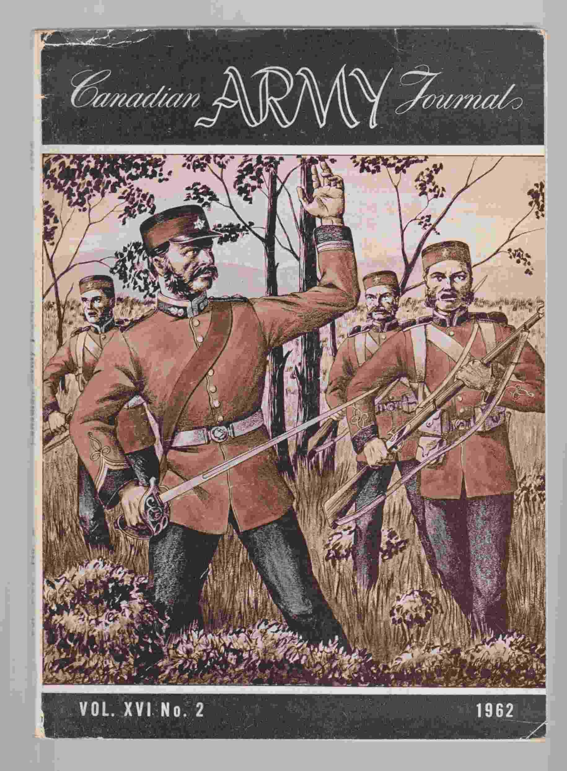 Image for The Canadian Army Journal Vol. XVI No. 2 1952
