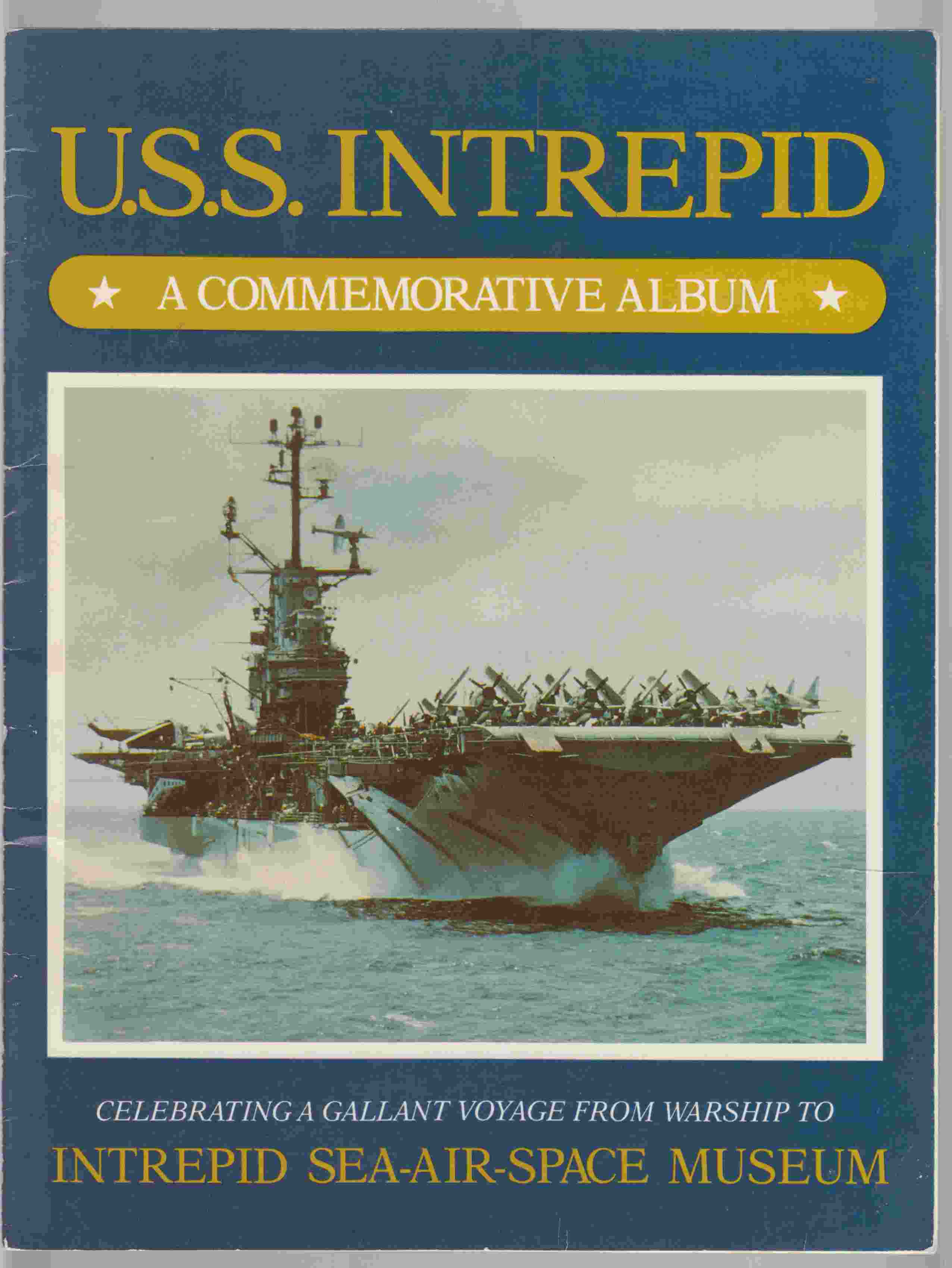 Image for U. S. S. Intrepid:  The Chronology of a Gallant Voyage