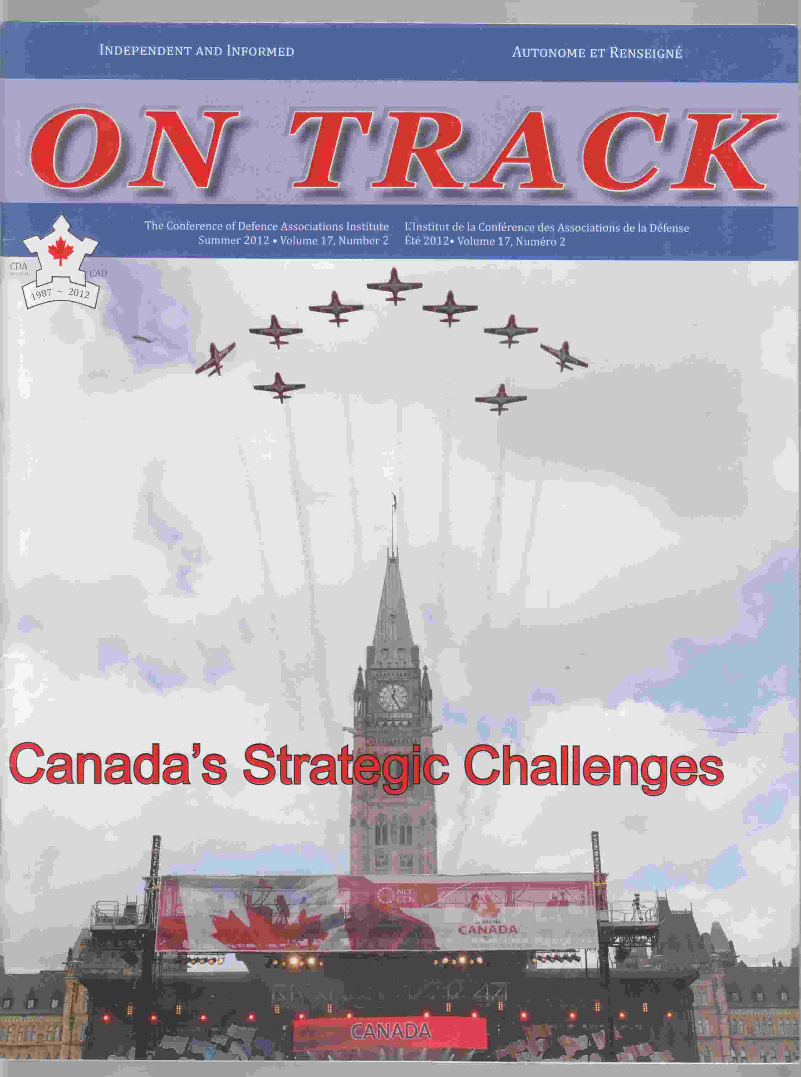 Image for On Track Summer 2012 Volume 17, Number 2
