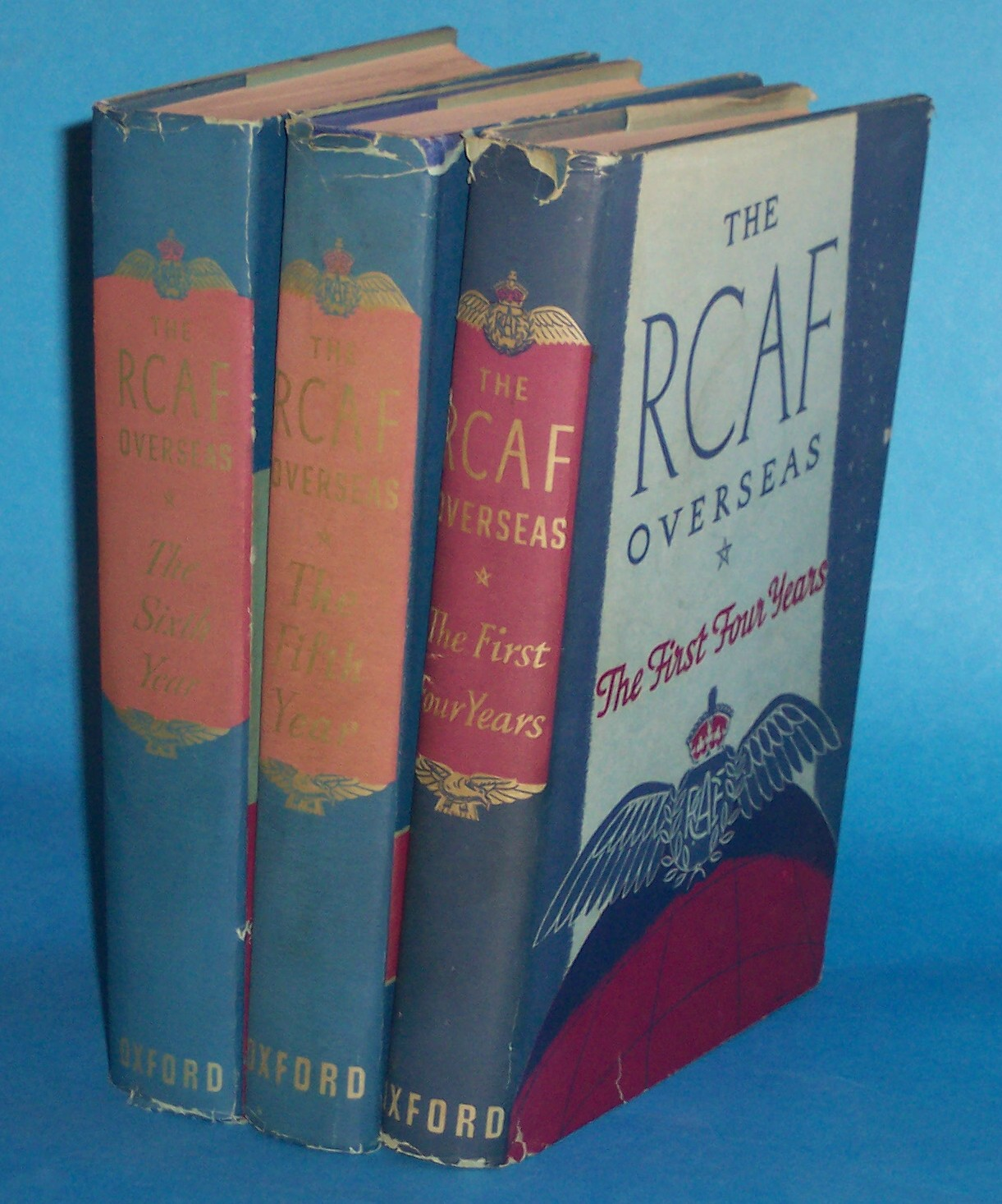 Image for The R. C. A. F. Overseas  (Complete Set: the First Four Years, the Fifth Year, the Sixth Year)