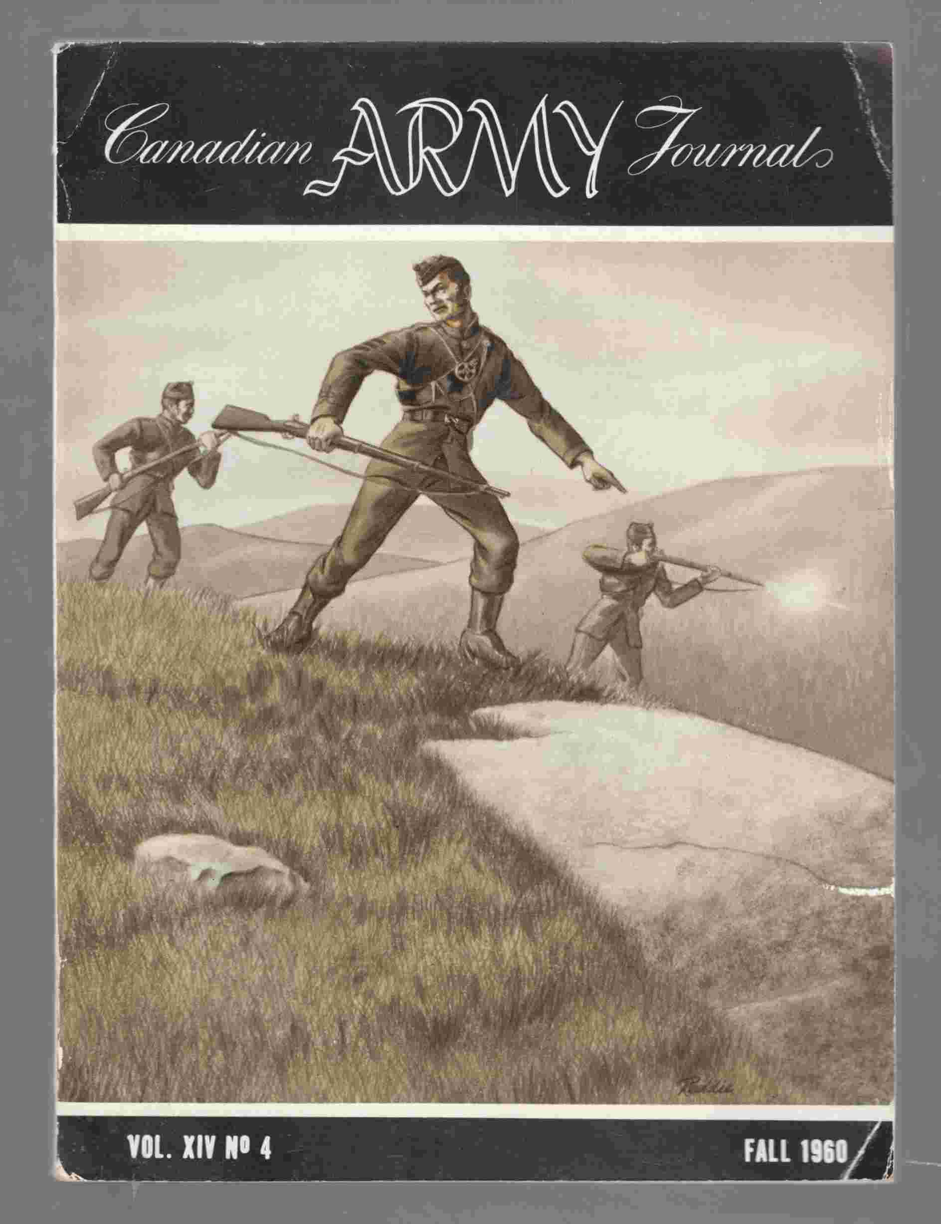 Image for Canadian Army Journal Vol. XIV No 4 Fall 1960