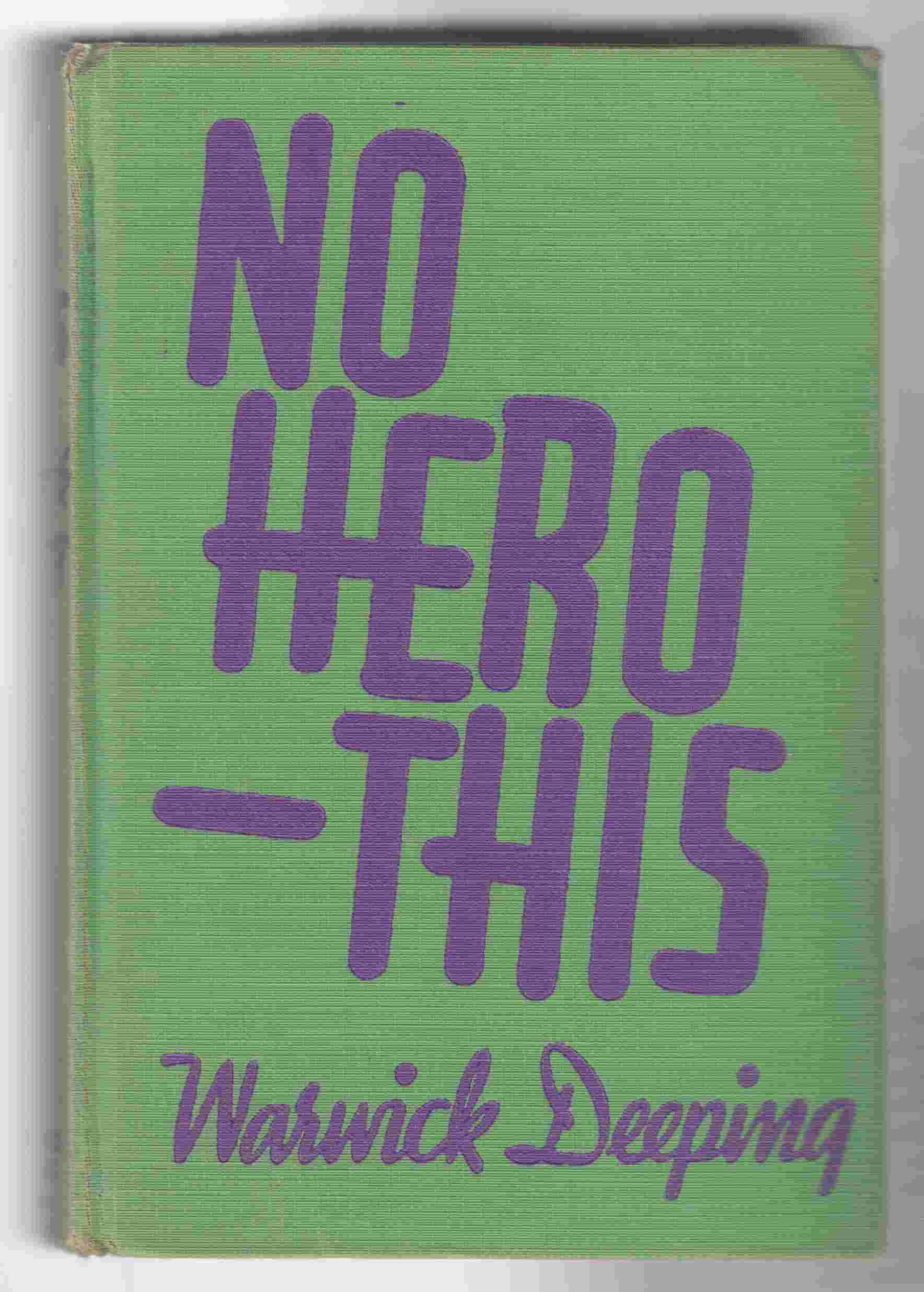 Image for No Hero - This