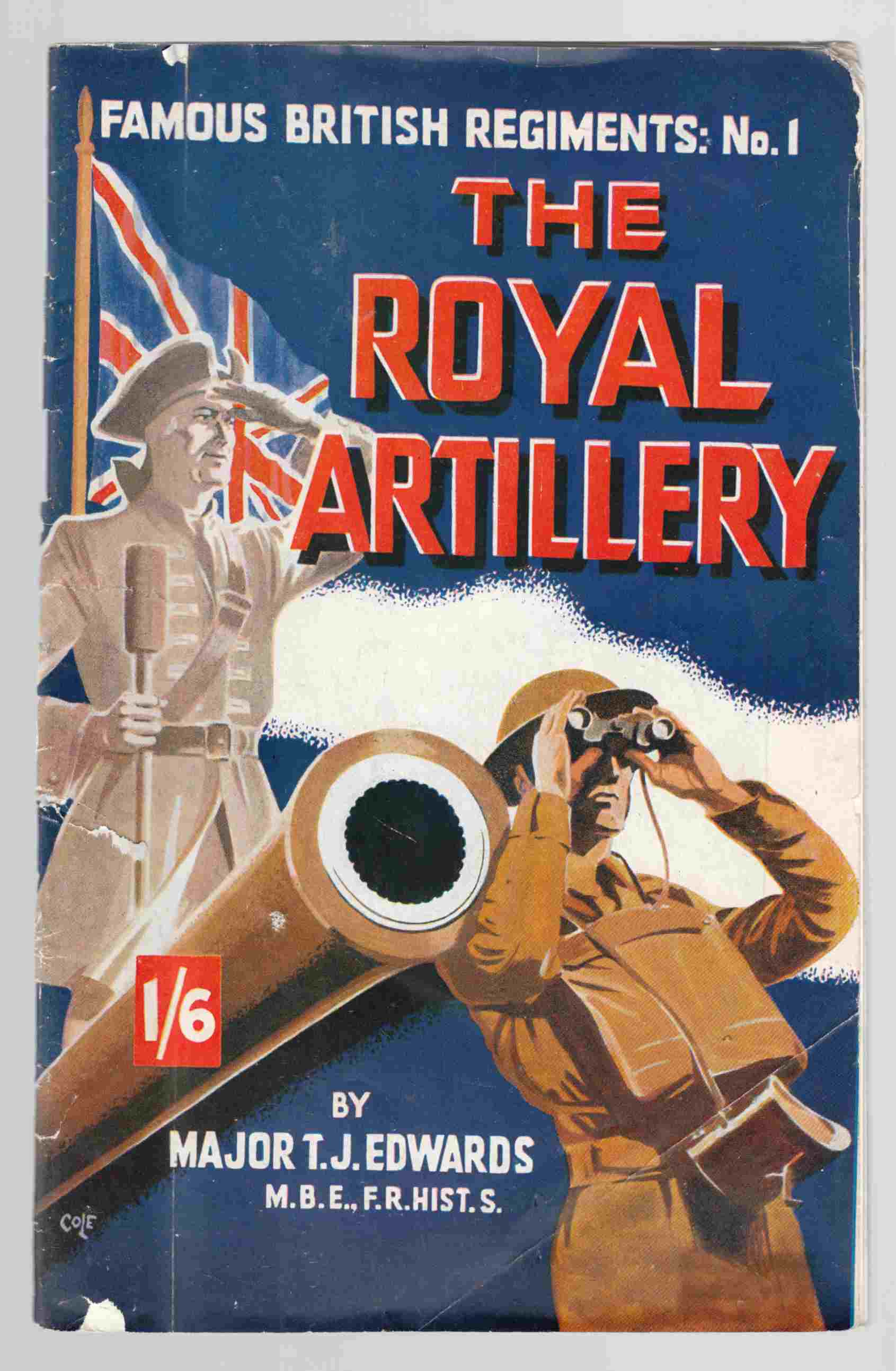 Image for Famous British Regiments: No. 1 The Royal Artillery