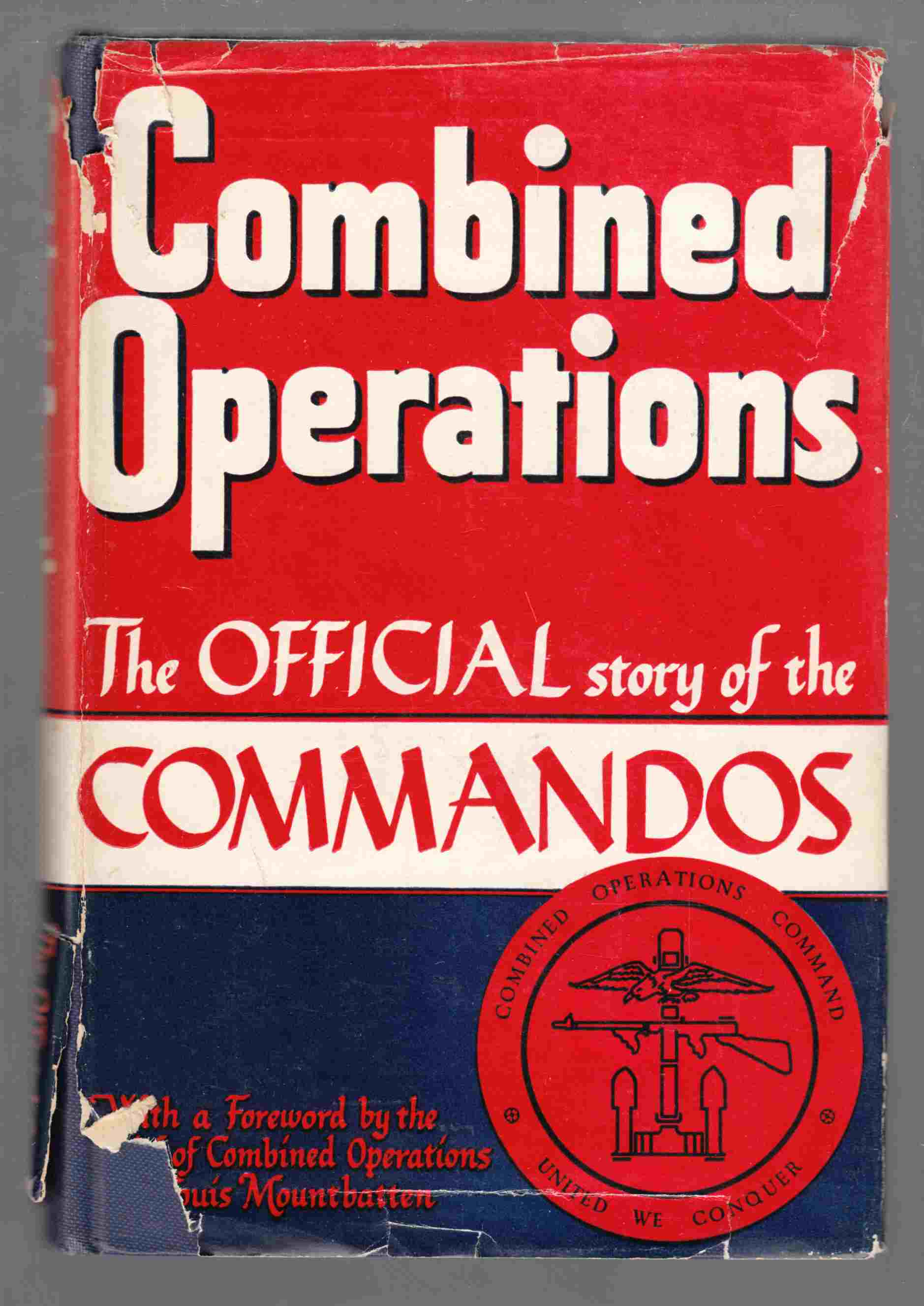 Image for Combined Operations The Official Story of the Commandos